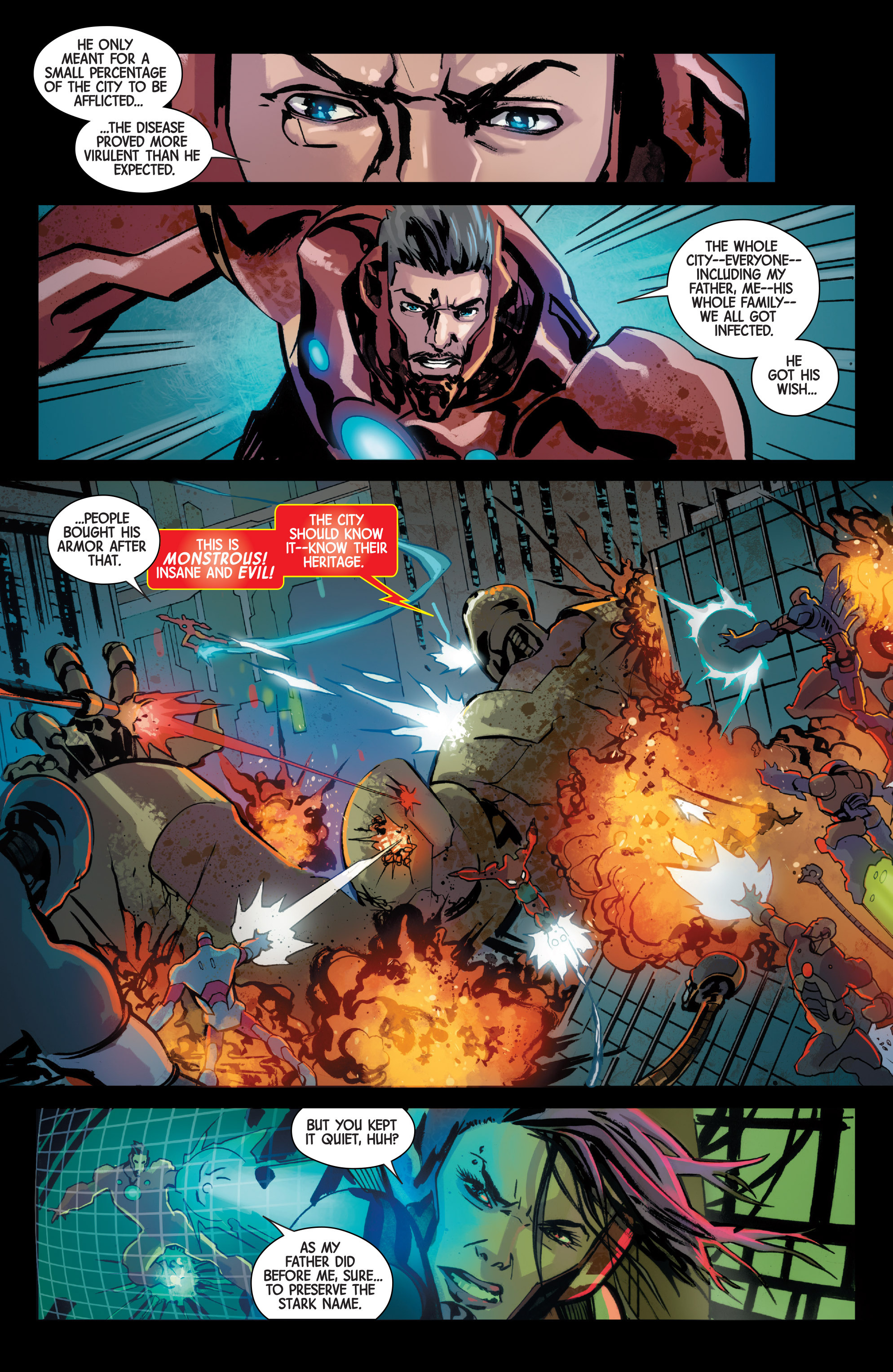 Read online Armor Wars comic -  Issue #5 - 11