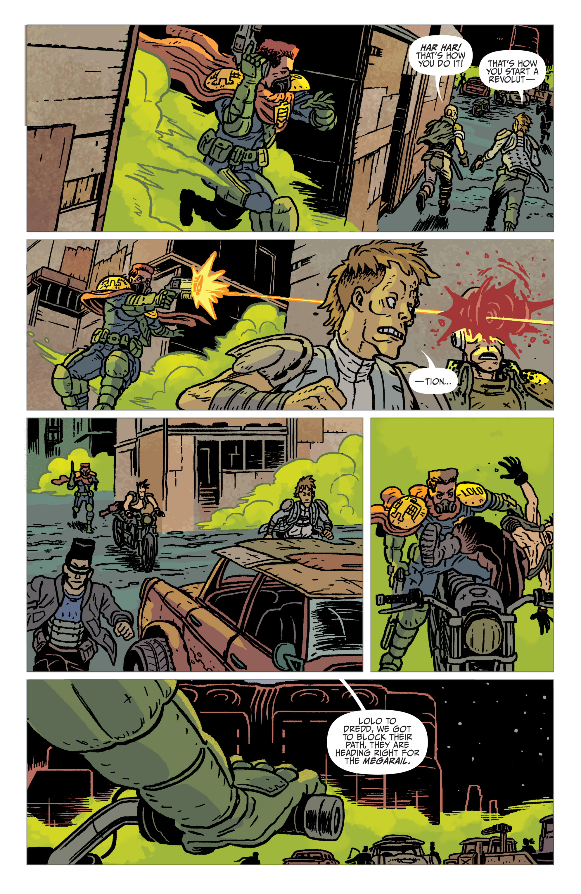Read online Judge Dredd: The Blessed Earth comic -  Issue #2 - 21