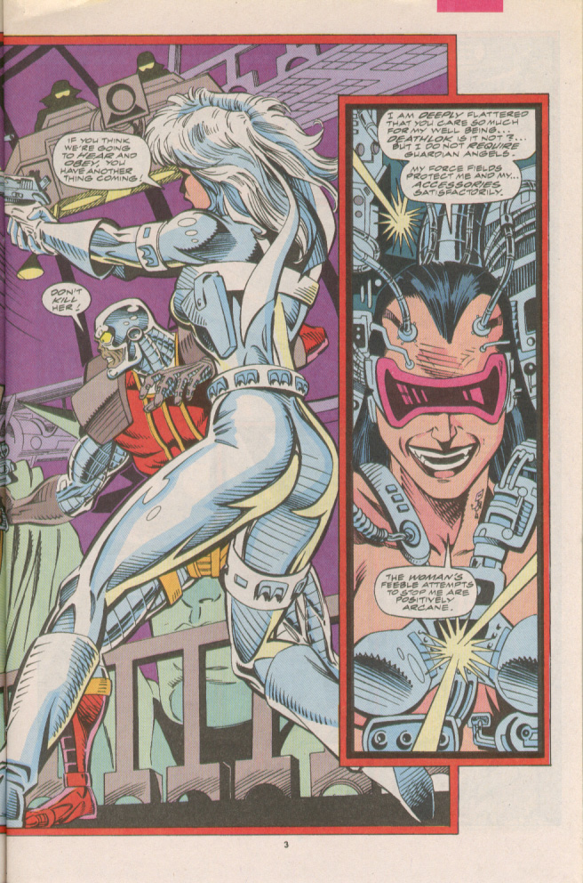 Read online Silver Sable and the Wild Pack comic -  Issue #7 - 4