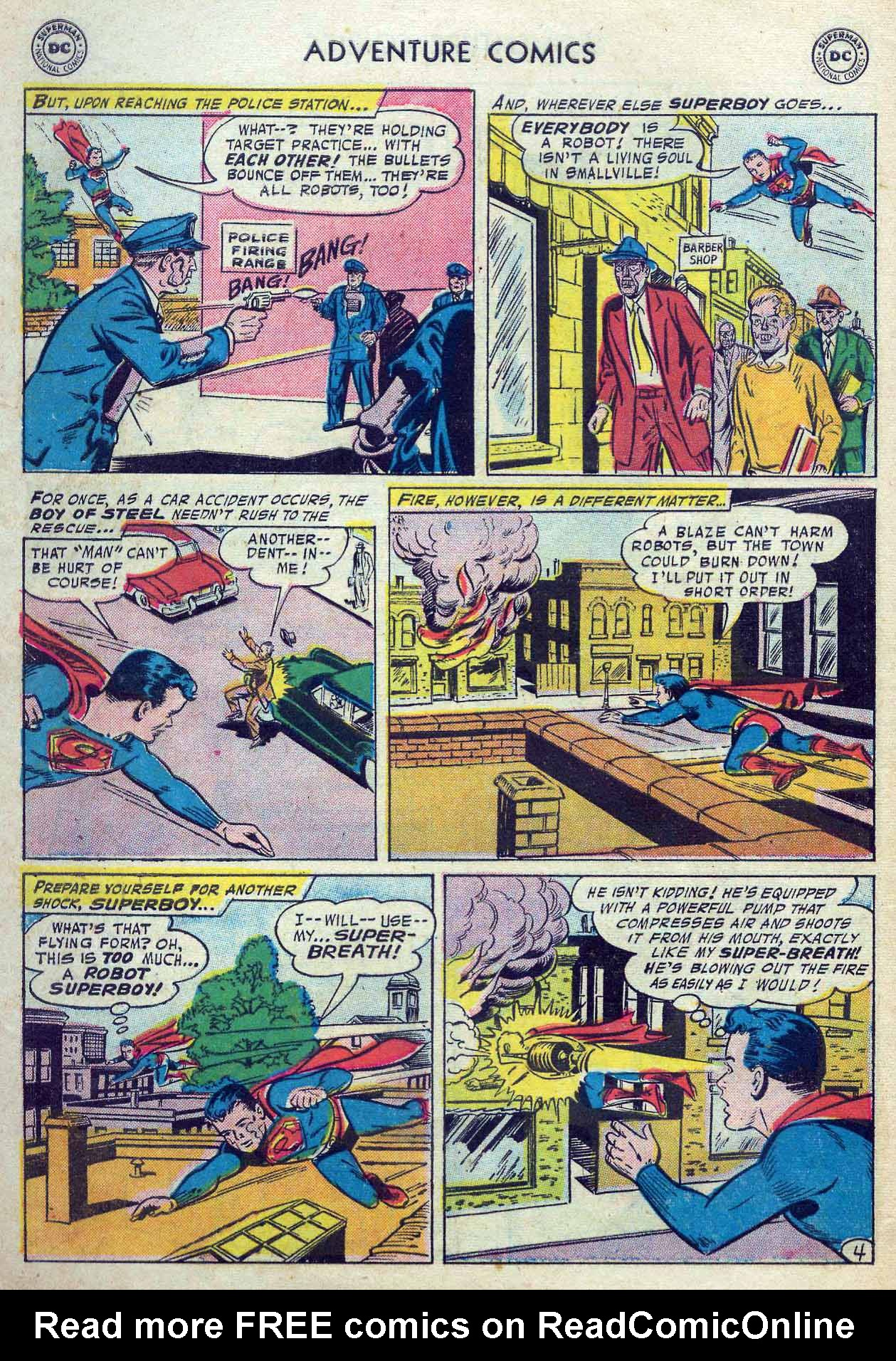 Read online Adventure Comics (1938) comic -  Issue #237 - 6