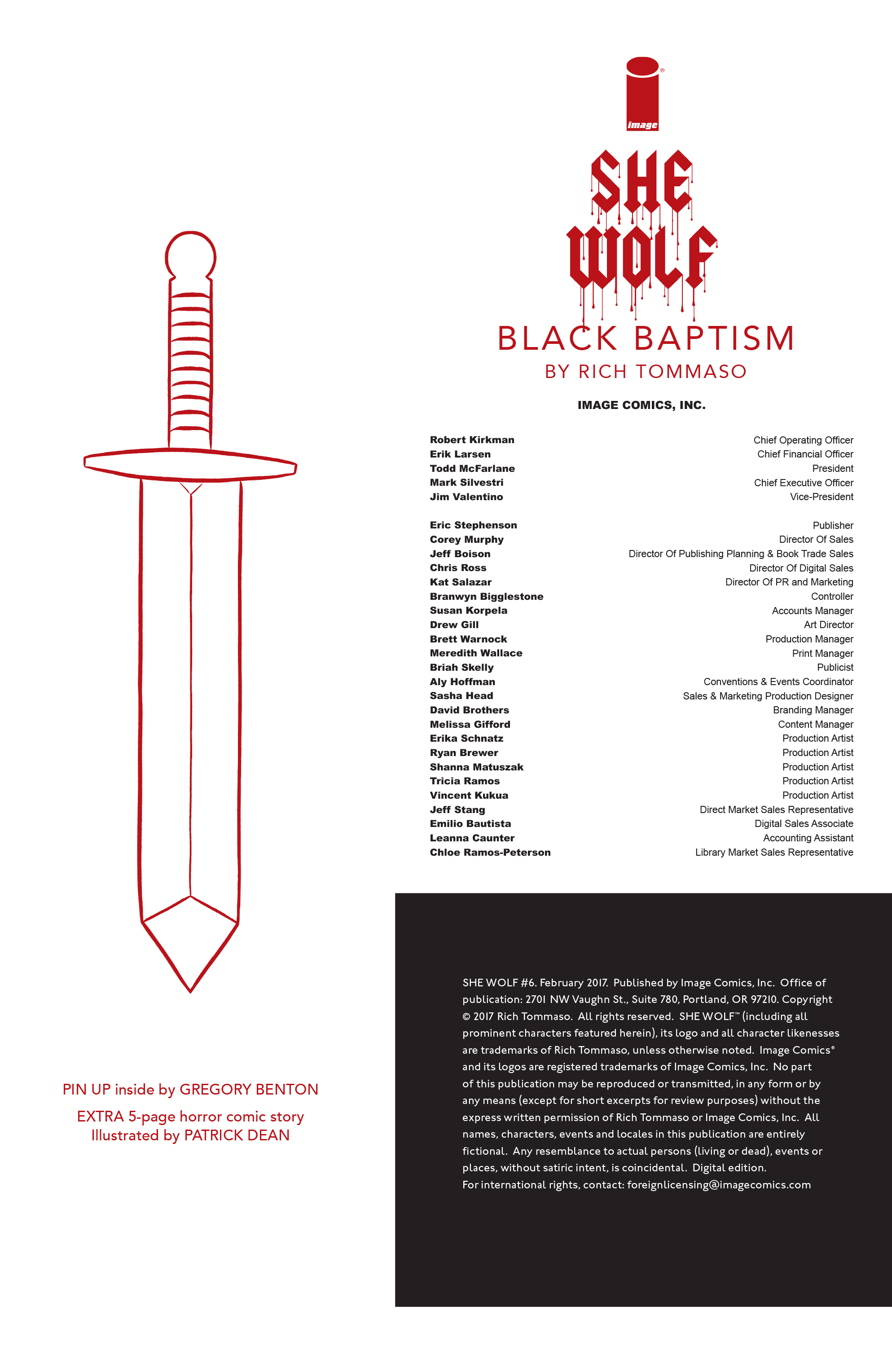 Read online She Wolf comic -  Issue #6 - 28
