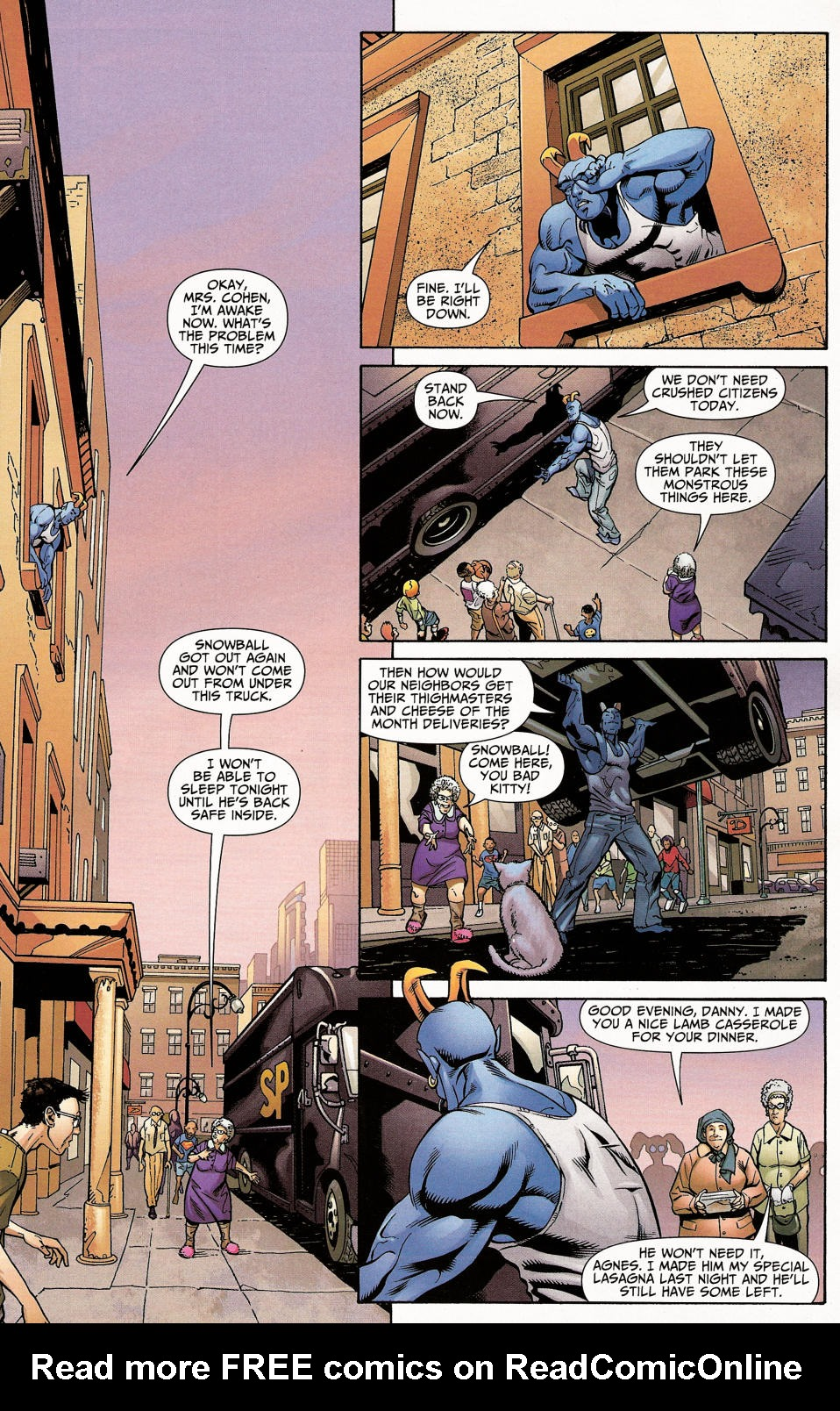 Read online Shadowpact comic -  Issue #4 - 5