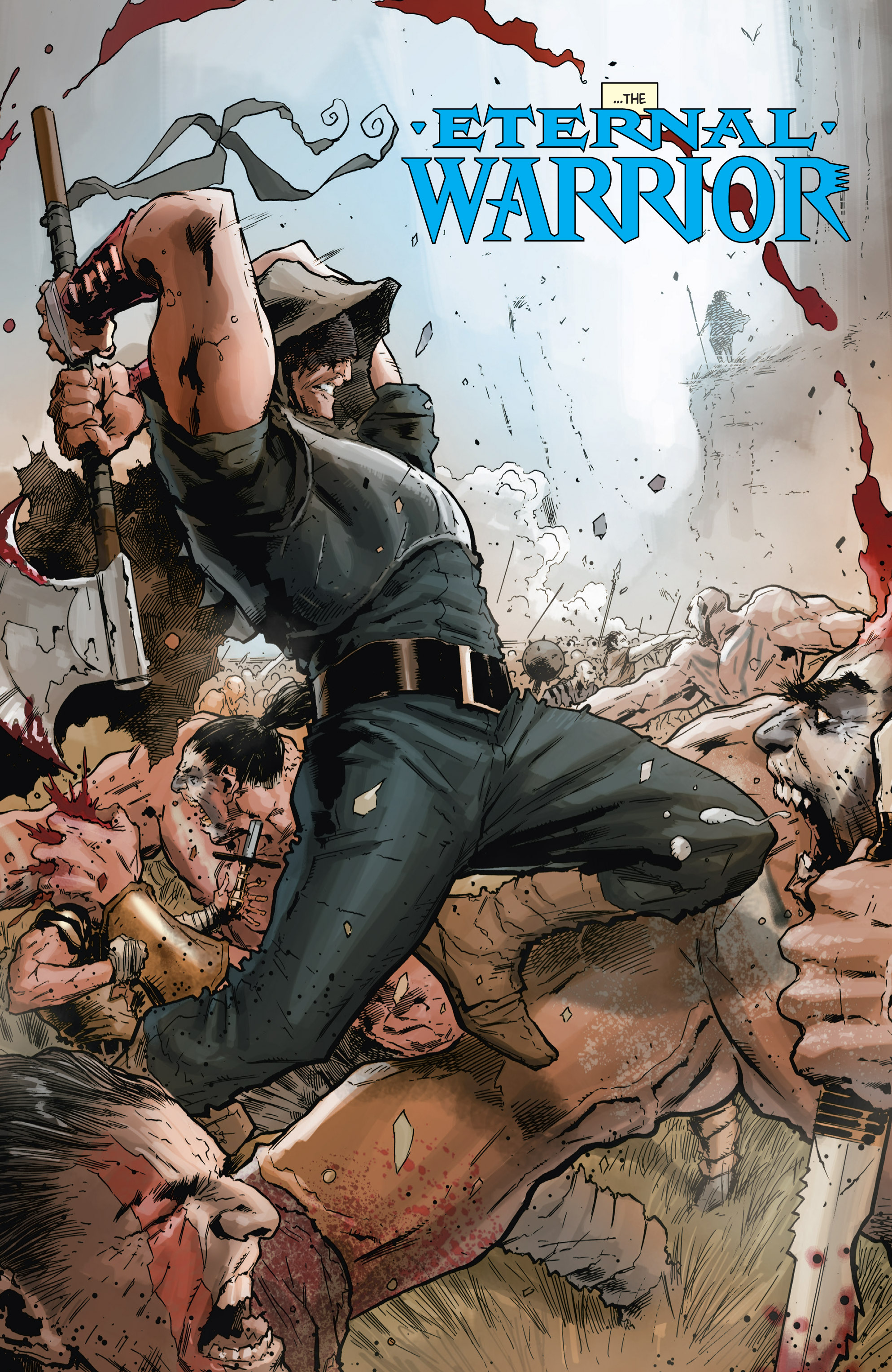Read online Shadowman (2012) comic -  Issue #10 - 28