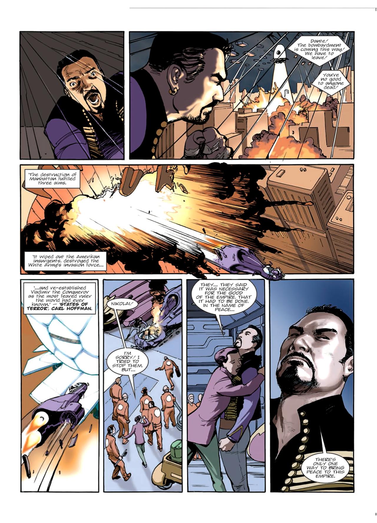 Read online Nikolai Dante comic -  Issue # TPB 9 - 66