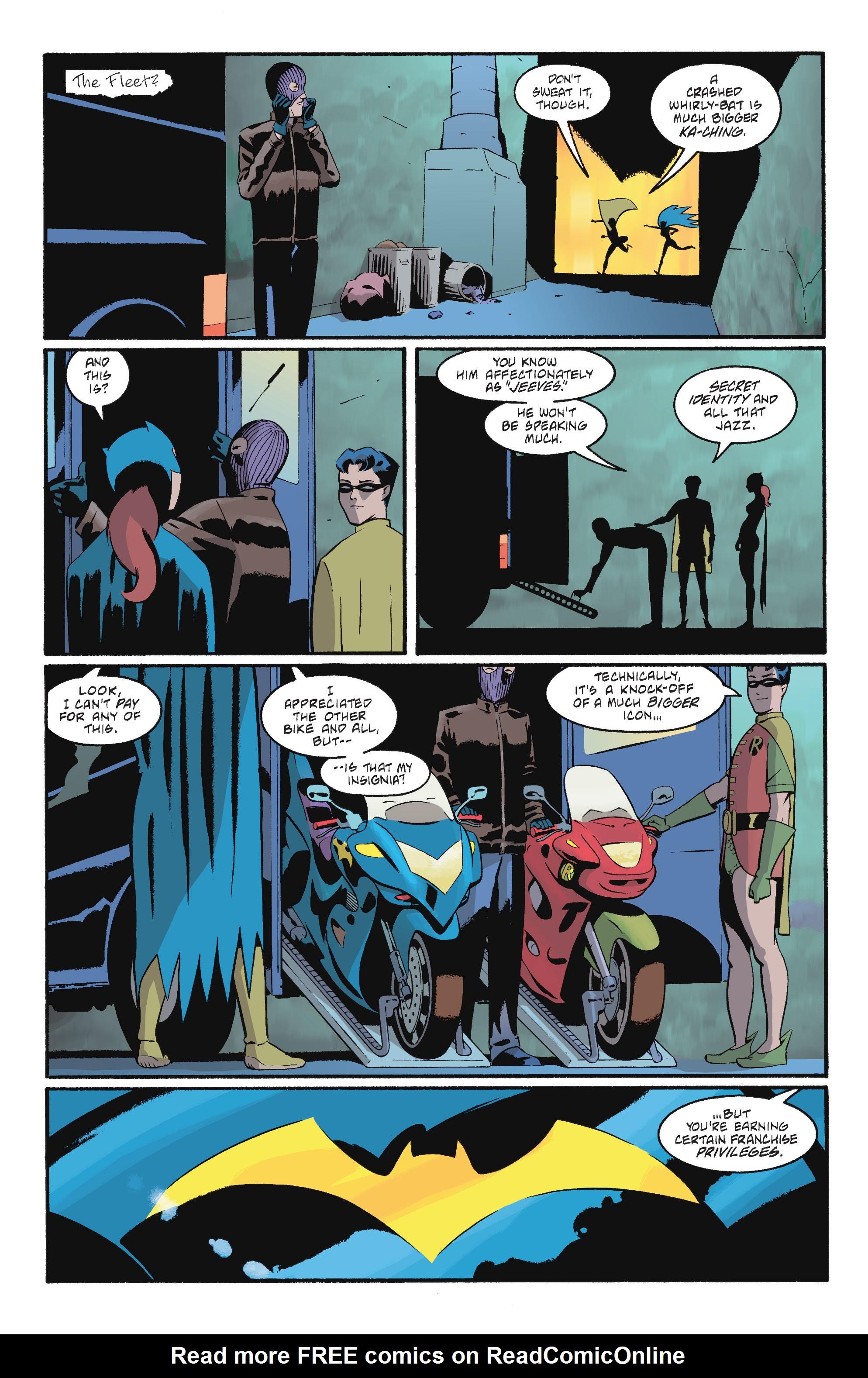 Read online Batgirl/Robin: Year One comic -  Issue # TPB 2 - 150