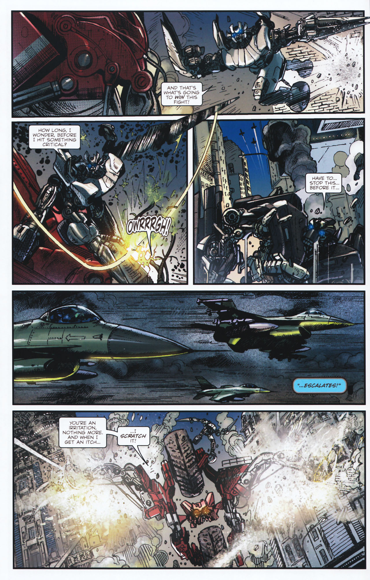 Read online Transformers: Tales of The Fallen comic -  Issue #2 - 20
