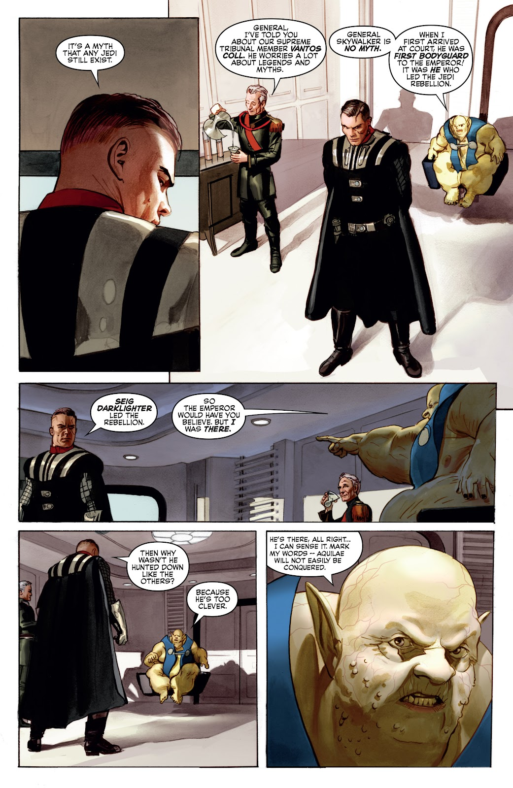 Read online Star Wars Legends: Infinities - Epic Collection comic -  Issue # TPB (Part 4) - 6