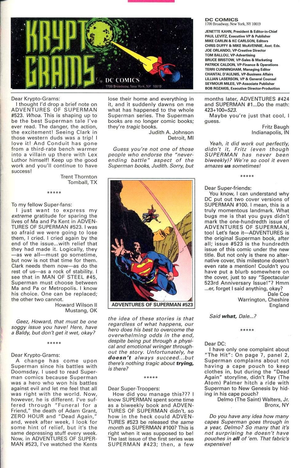 Read online Adventures of Superman (1987) comic -  Issue #527 - 24