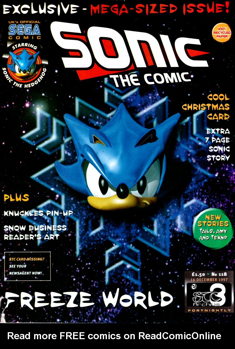 Read online Sonic the Comic comic -  Issue #118 - 1
