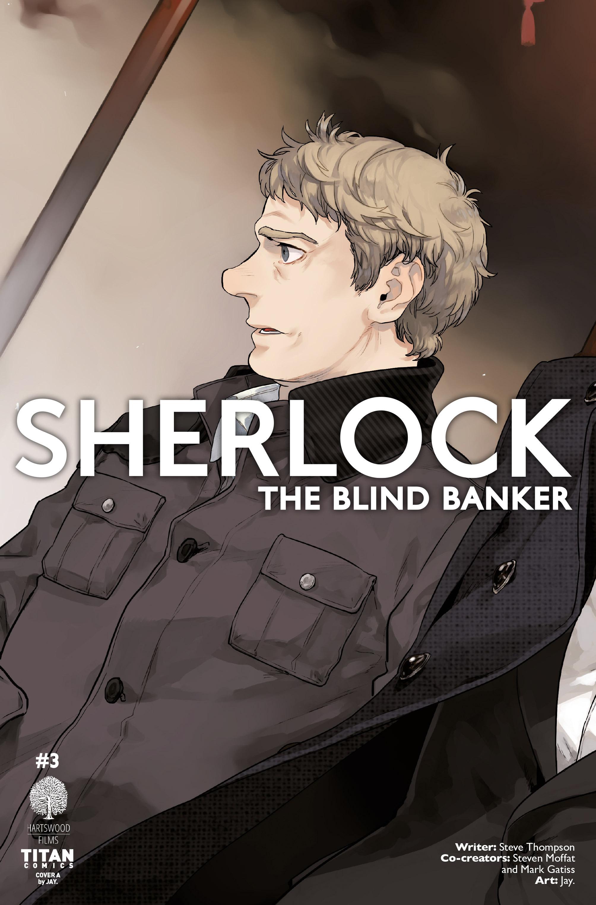 Read online Sherlock: The Blind Banker comic -  Issue #3 - 2