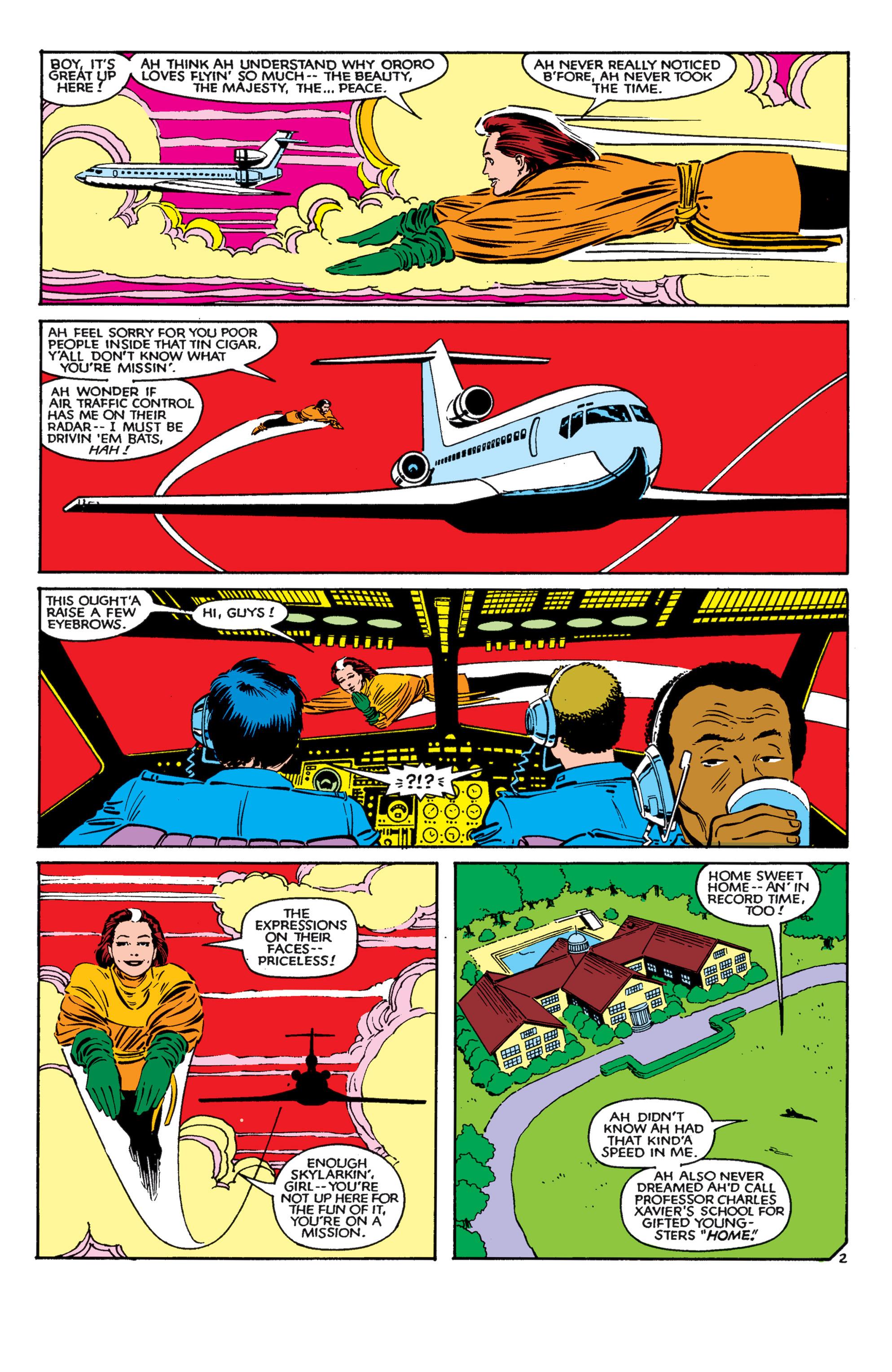 Read online Uncanny X-Men (1963) comic -  Issue #182 - 3