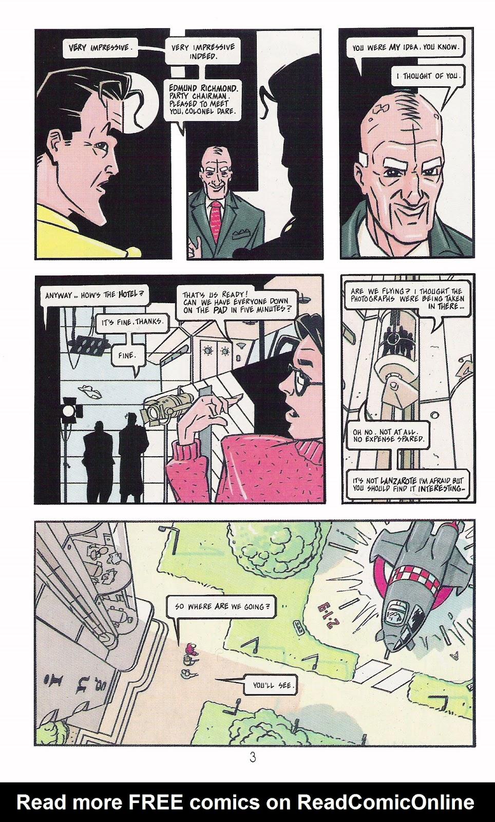 Read online Dare comic -  Issue #2 - 4