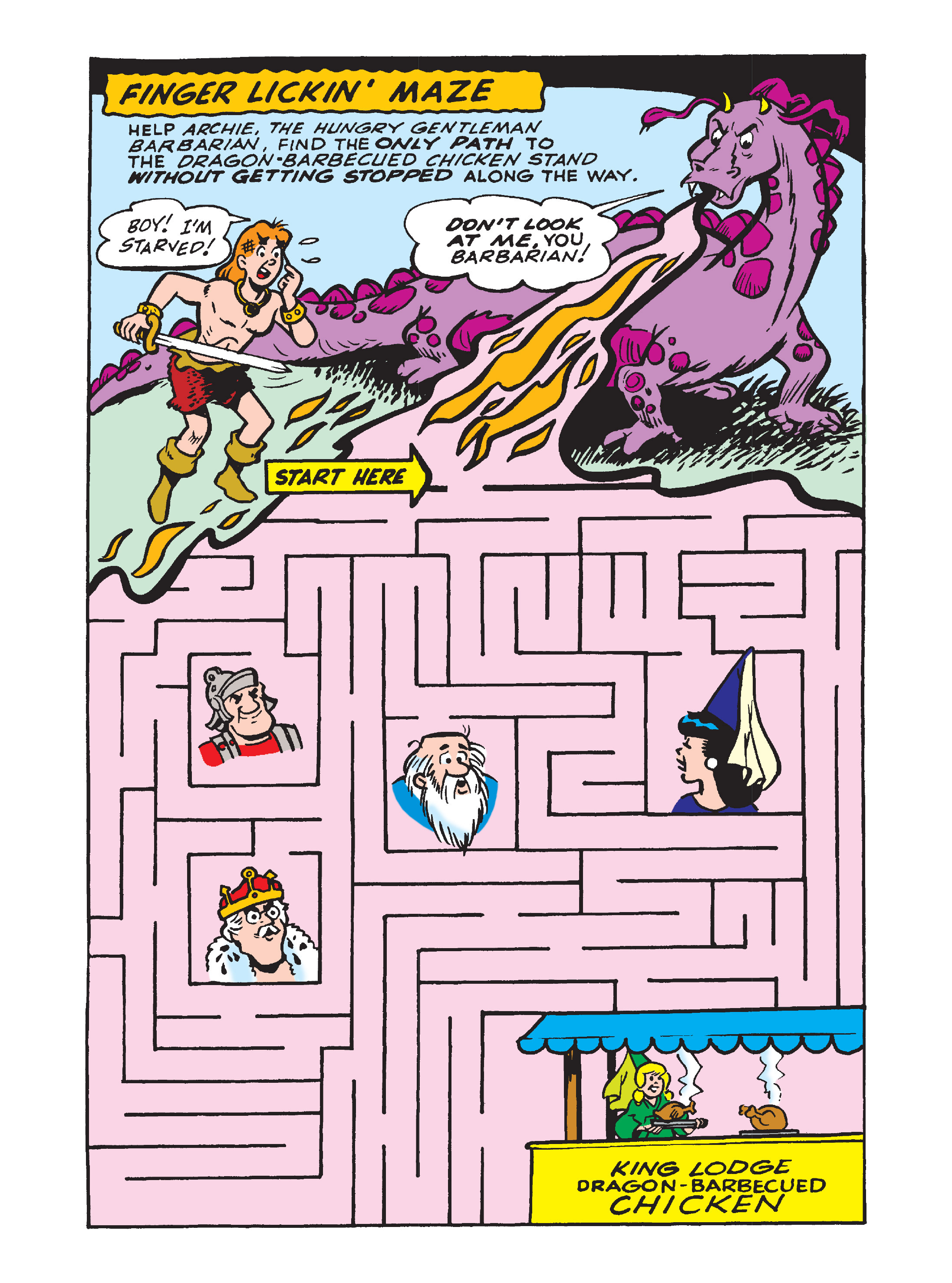 Read online Archie's Funhouse Double Digest comic -  Issue #8 - 124