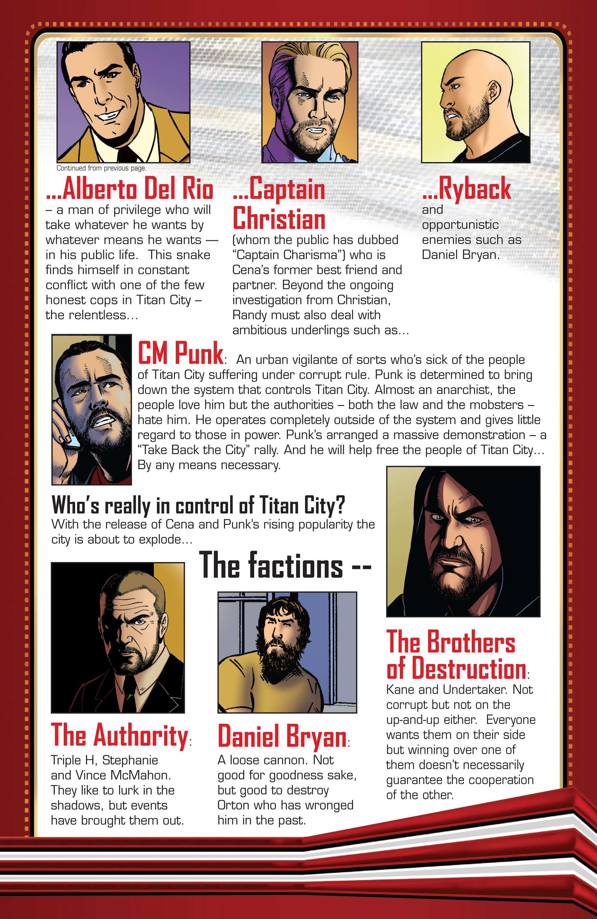 Read online WWE Superstars comic -  Issue #2 - 24