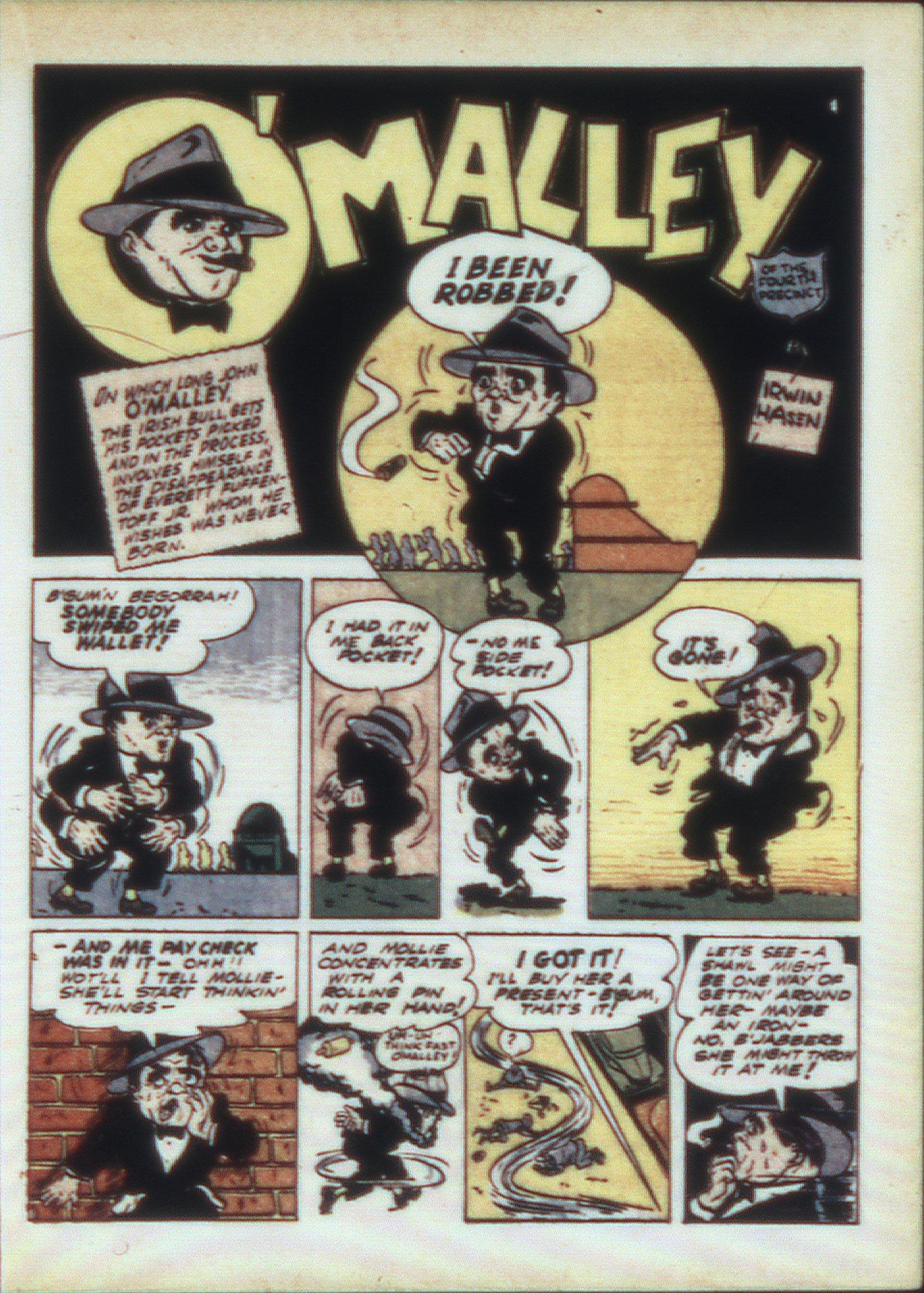 Read online Sensation (Mystery) Comics comic -  Issue #9 - 33