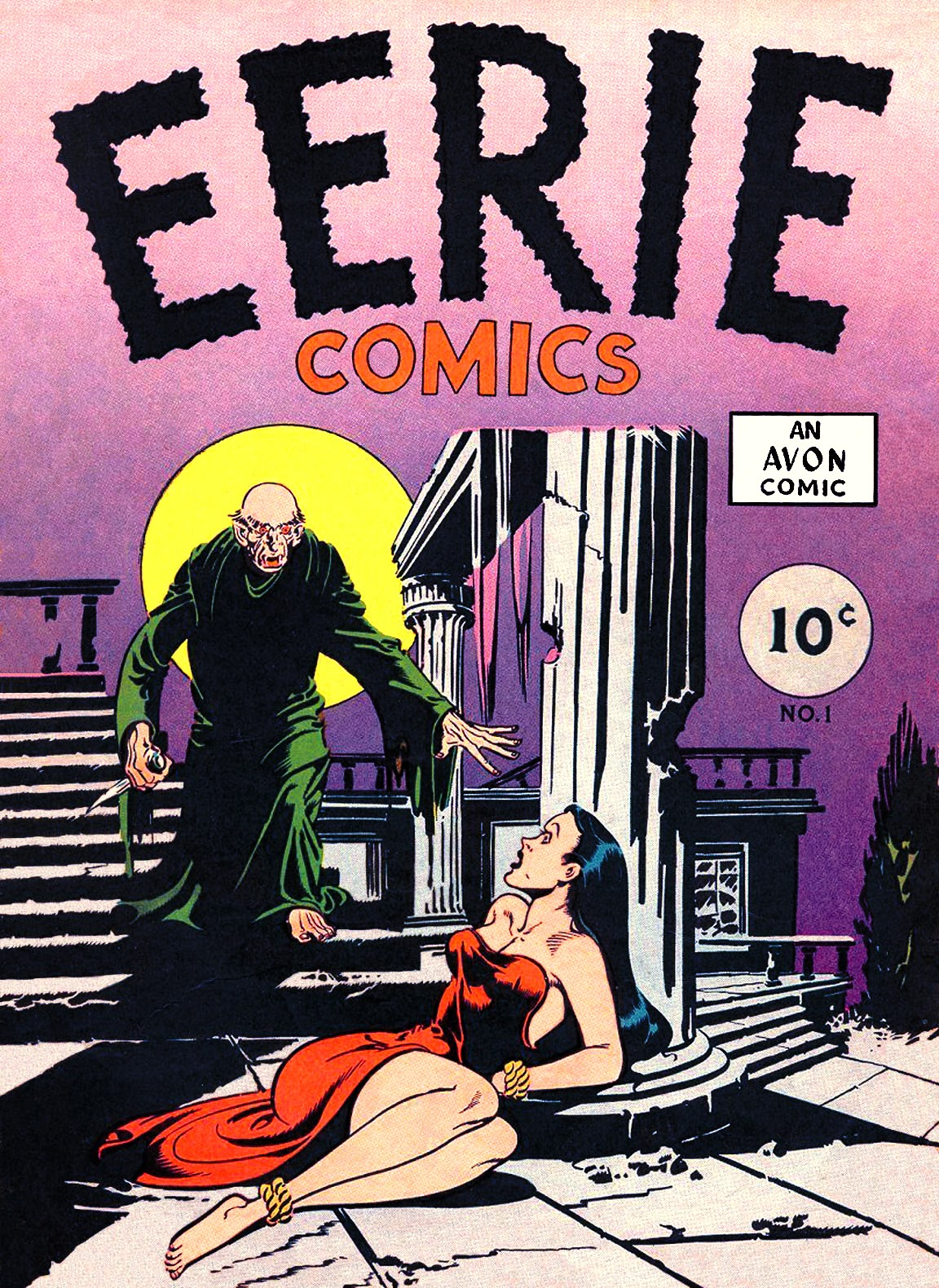 Eerie Comics issue Full - Page 1