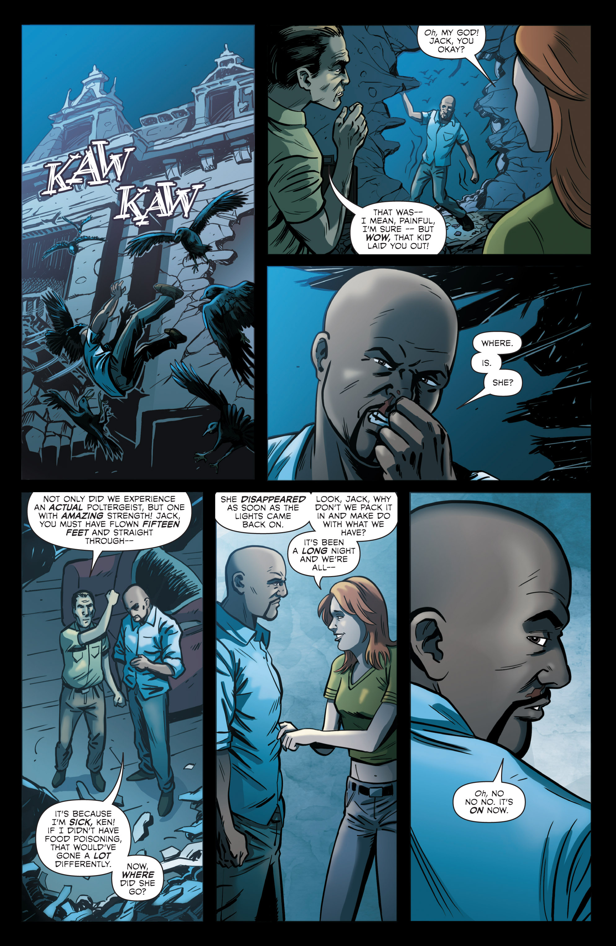 Read online Hoax Hunters (2012) comic -  Issue # TPB 2 - 92