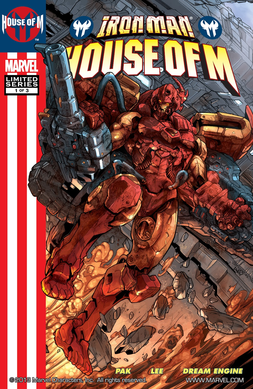 Iron Man: House of M Issue #1 #1 - English 1