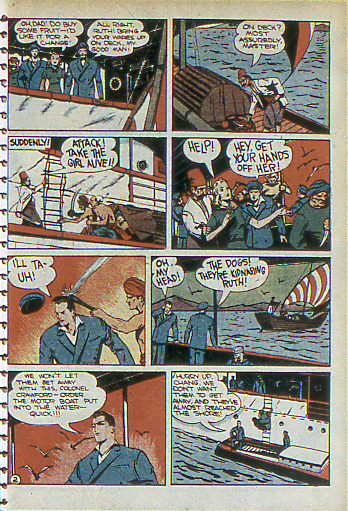 Read online Adventure Comics (1938) comic -  Issue #55 - 50