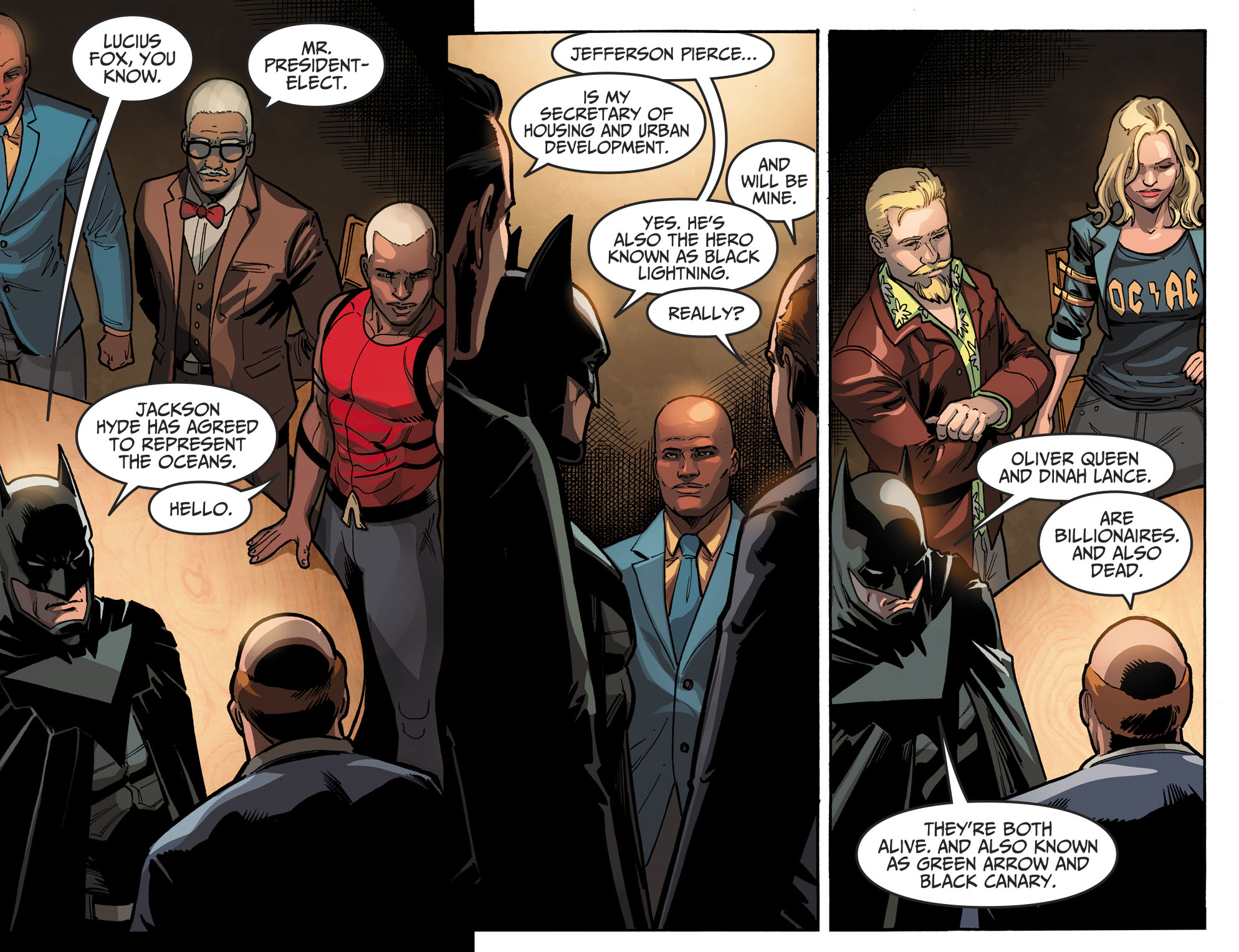 Read online Injustice 2 comic -  Issue #10 - 12