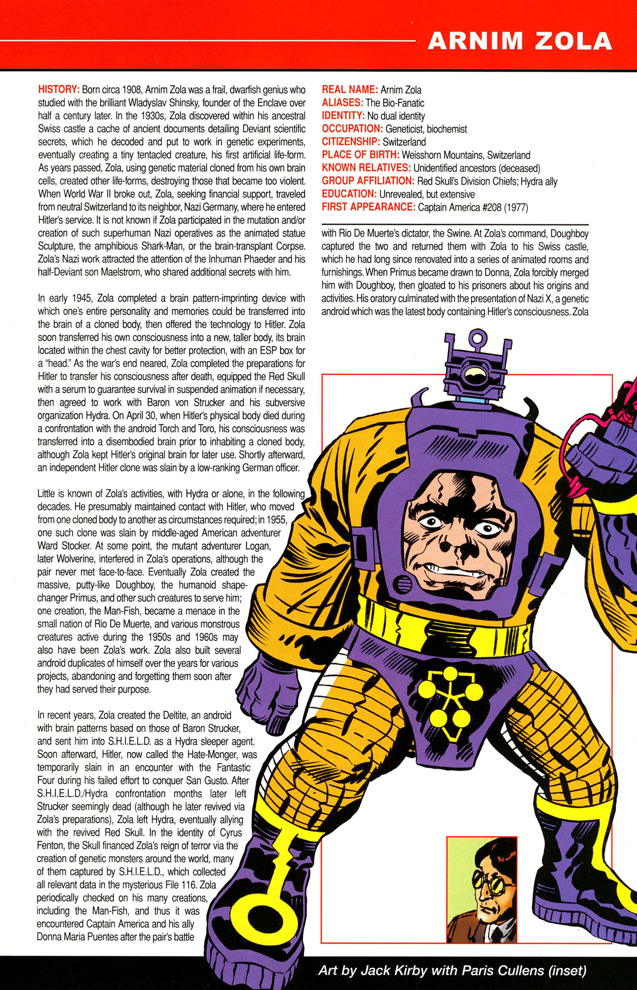 Read online All-New Official Handbook of the Marvel Universe A to Z comic -  Issue #12 - 63