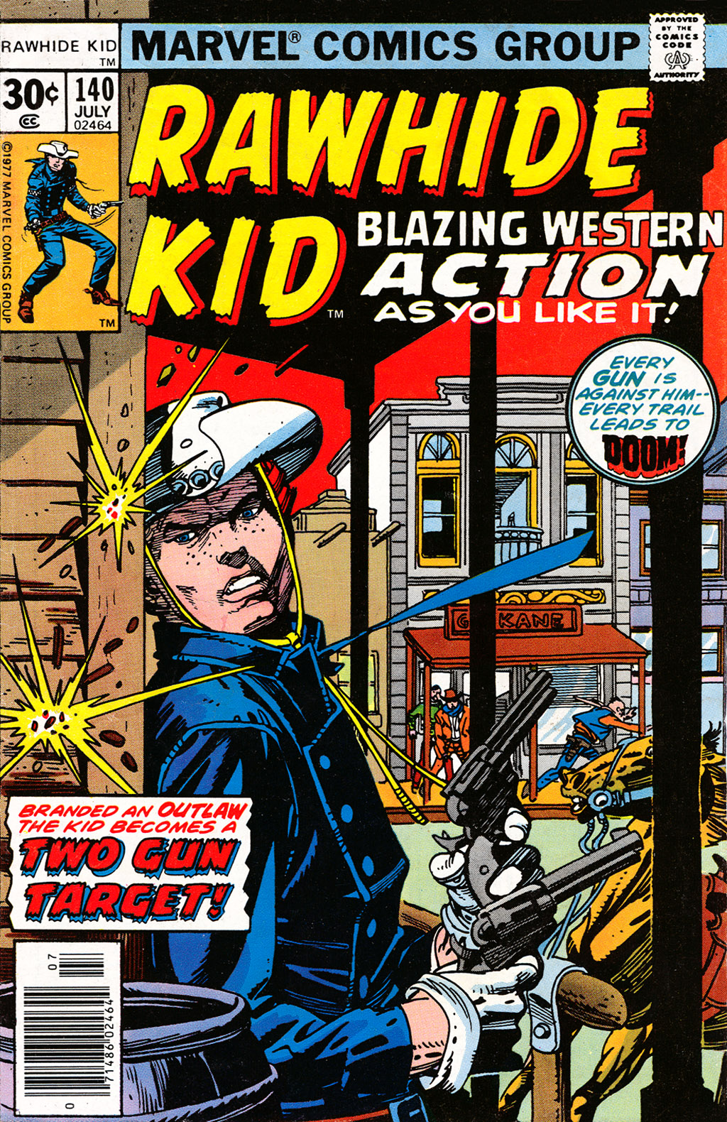 The Rawhide Kid (1955) issue 140 - Page 1