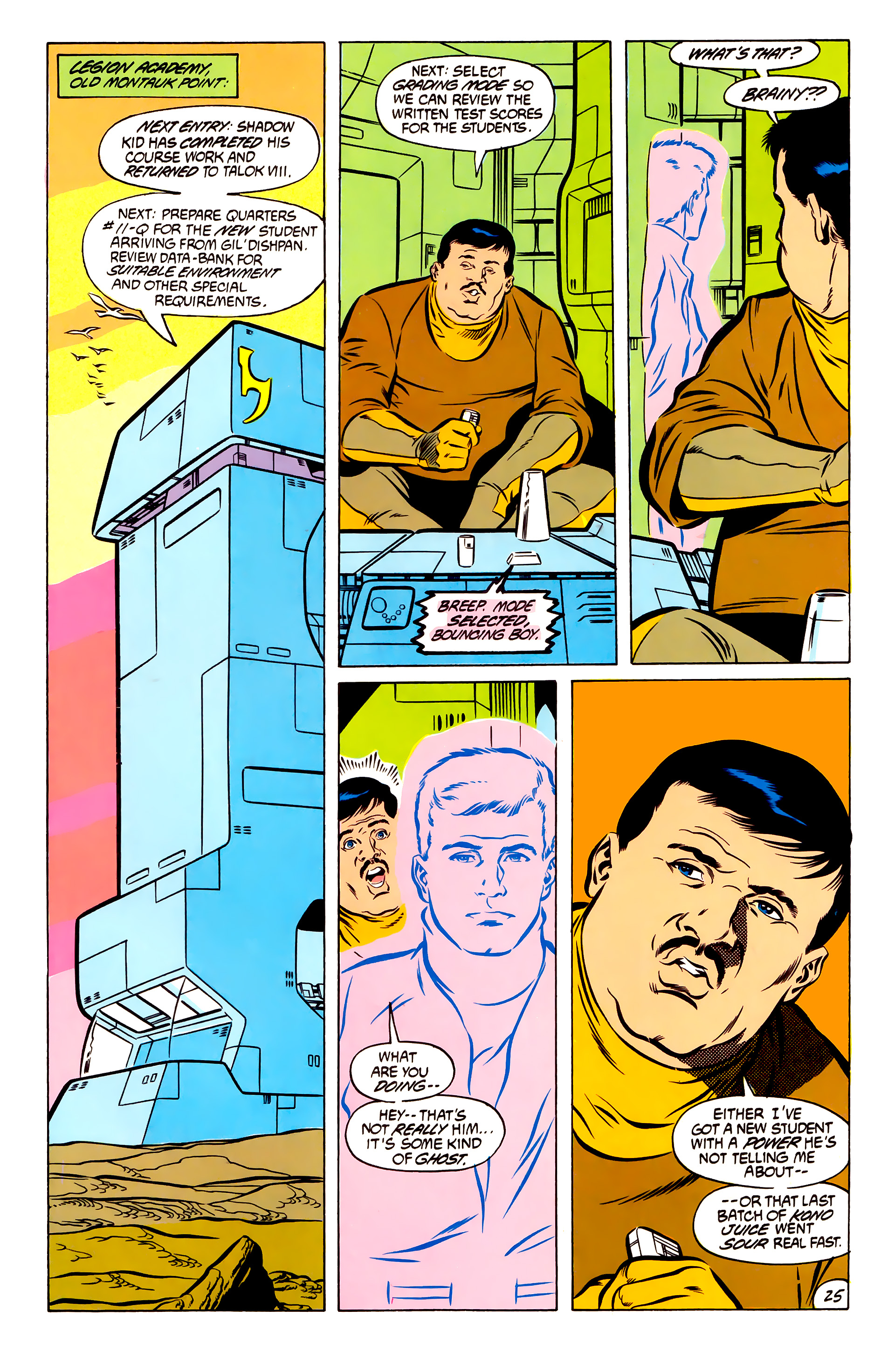 Legion of Super-Heroes (1984) 51 Page 25