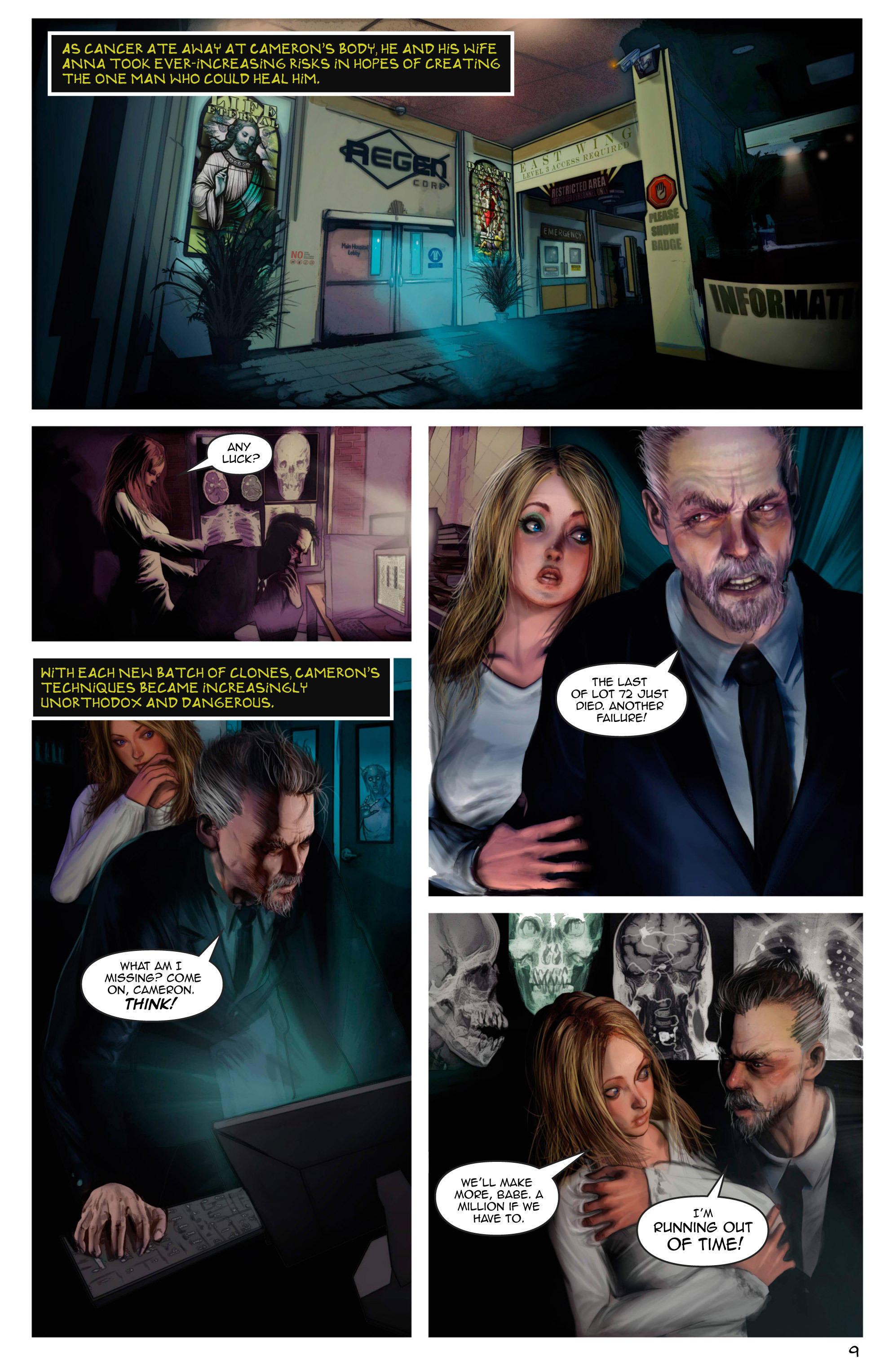 Read online Escape from Jesus Island comic -  Issue #2 - 9