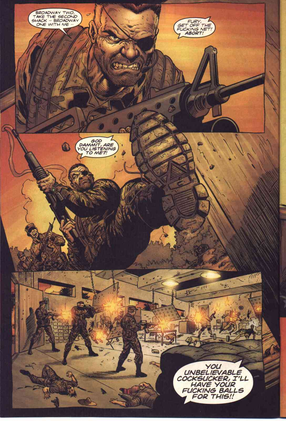 Read online Fury comic -  Issue #1 - 5