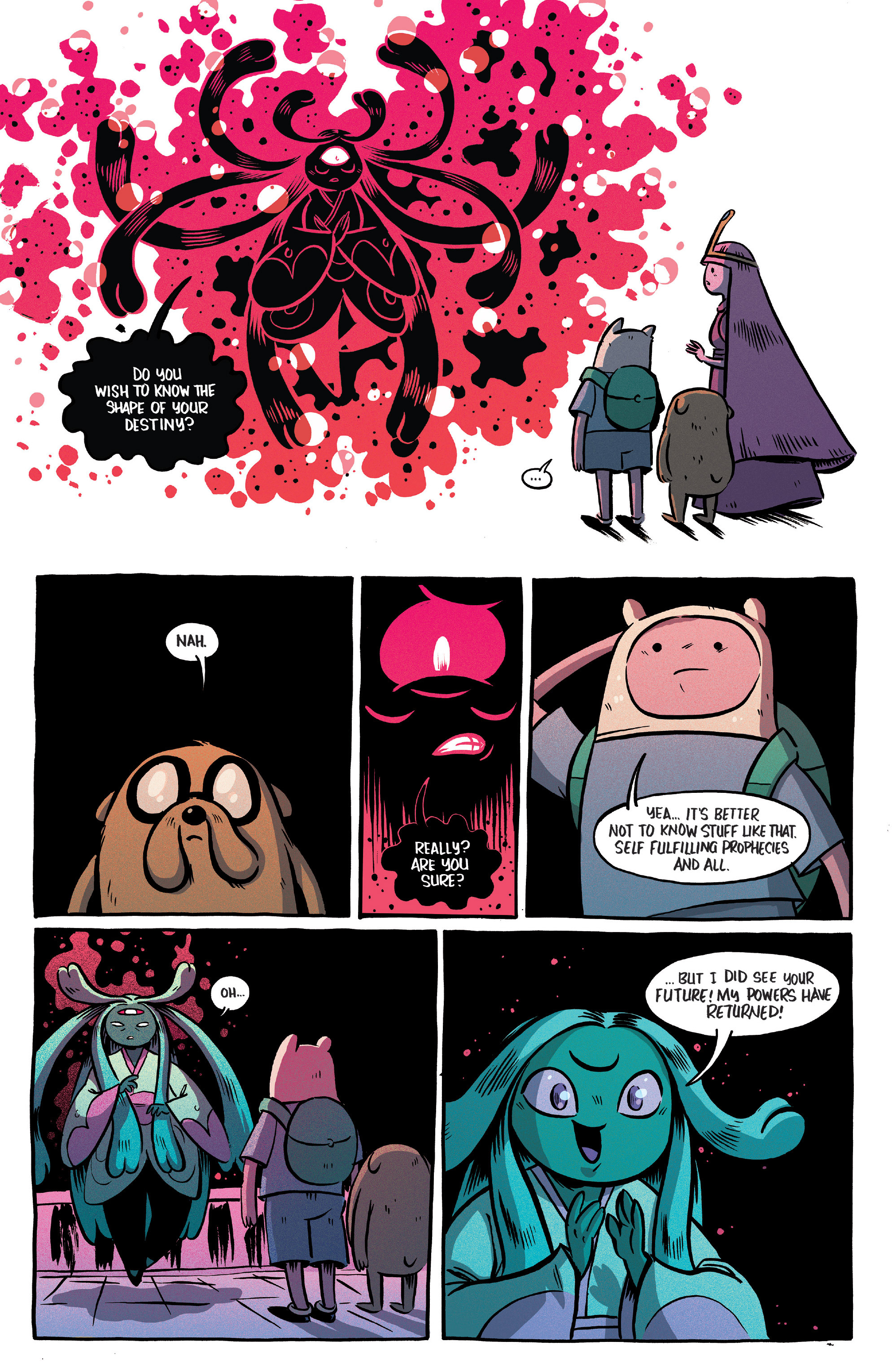 Read online Adventure Time Comics comic -  Issue #10 - 22