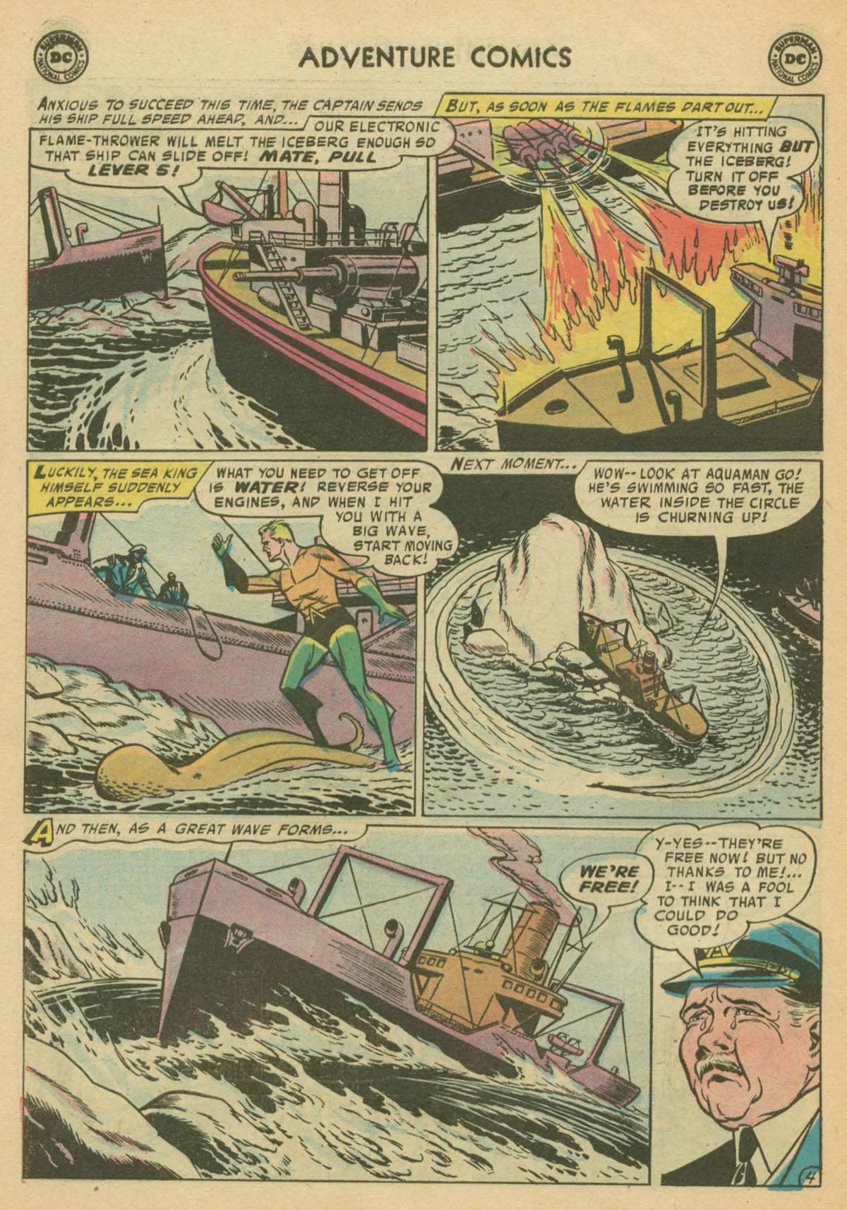 Read online Adventure Comics (1938) comic -  Issue #239 - 30
