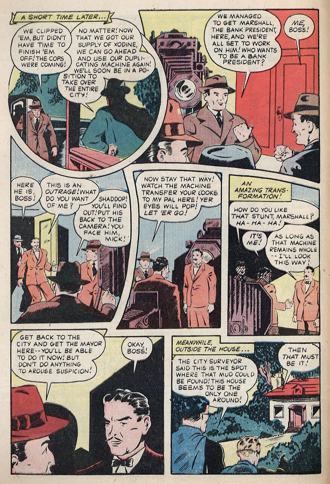 Exciting Comics (1940) issue 38 - Page 8