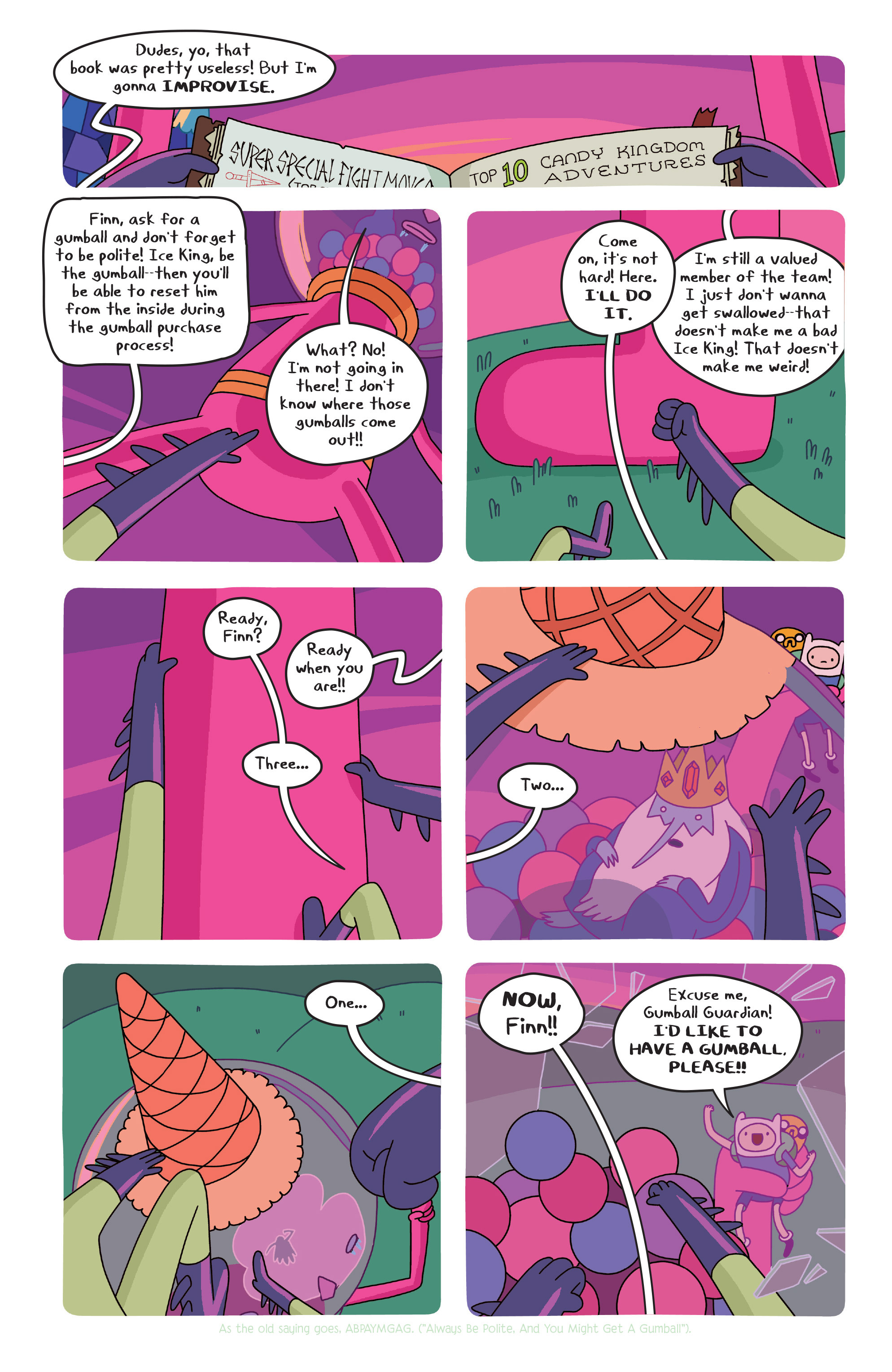 Read online Adventure Time comic -  Issue #20 - 17