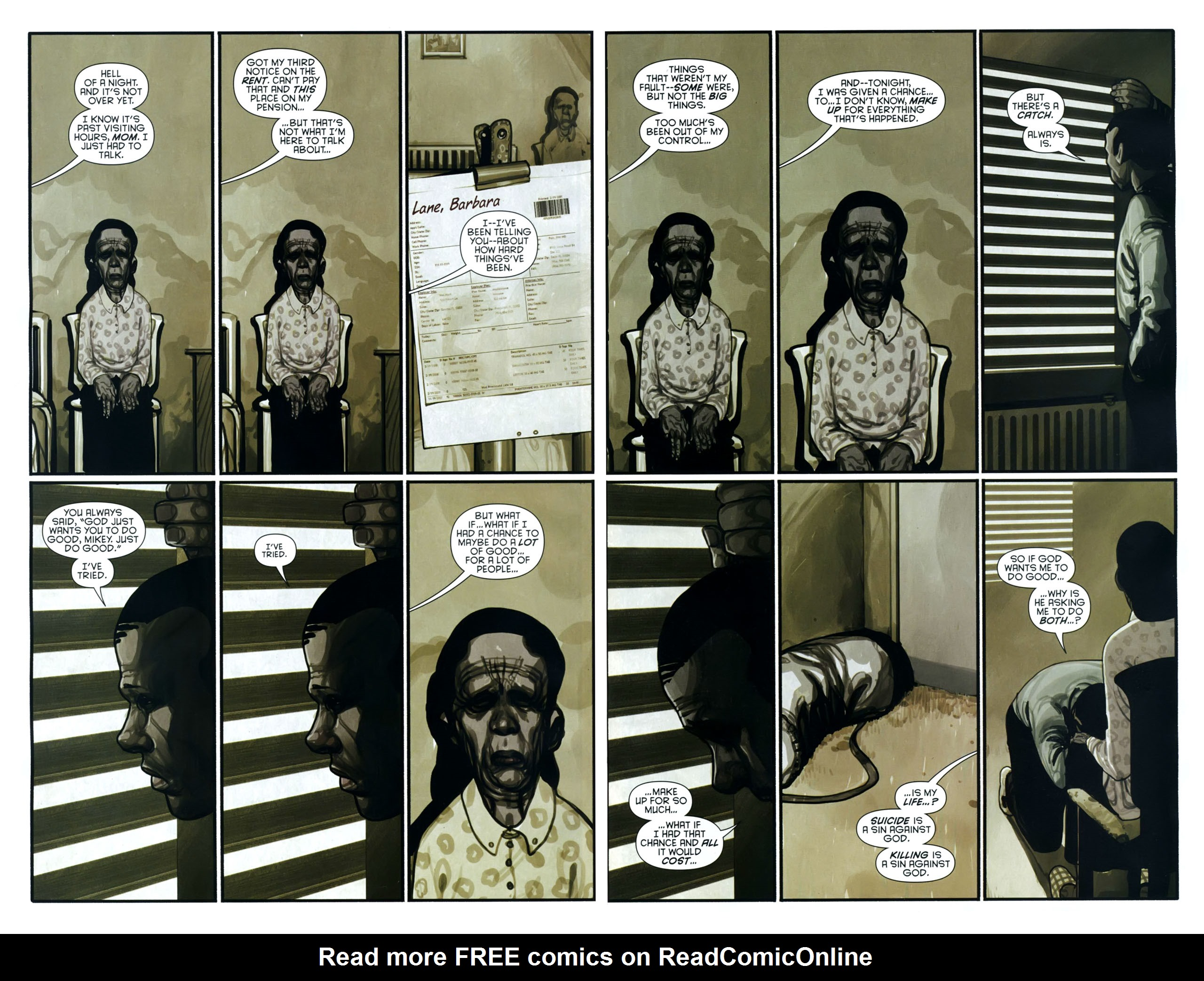 Read online Azrael: Death's Dark Knight comic -  Issue #2 - 23