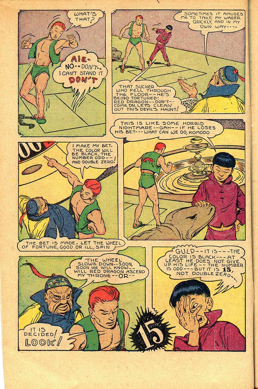 Read online Super-Magician Comics comic -  Issue #55 - 10