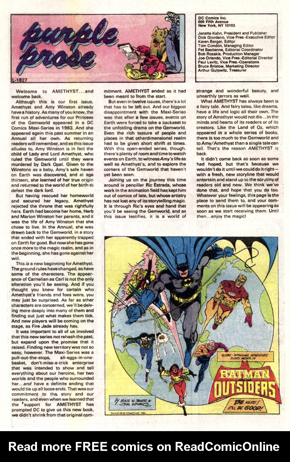 Read online Amethyst (1985) comic -  Issue #1 - 25