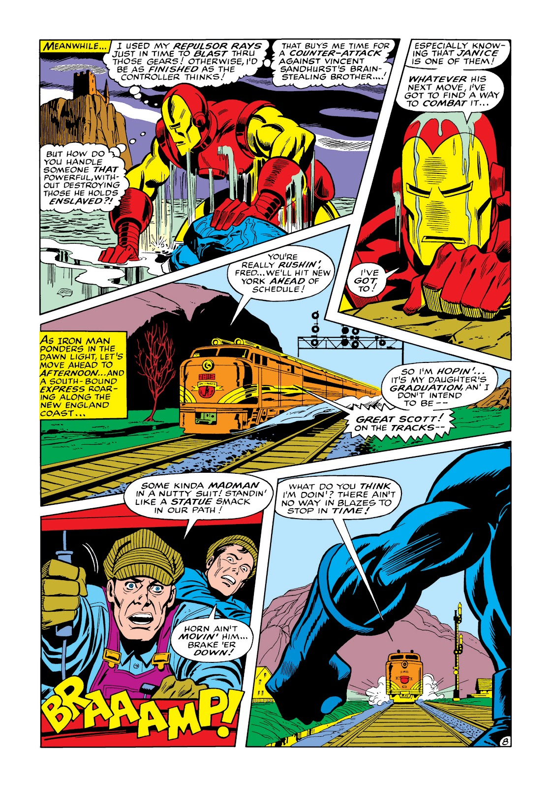 Read online Marvel Masterworks: The Invincible Iron Man comic -  Issue # TPB 5 (Part 3) - 46