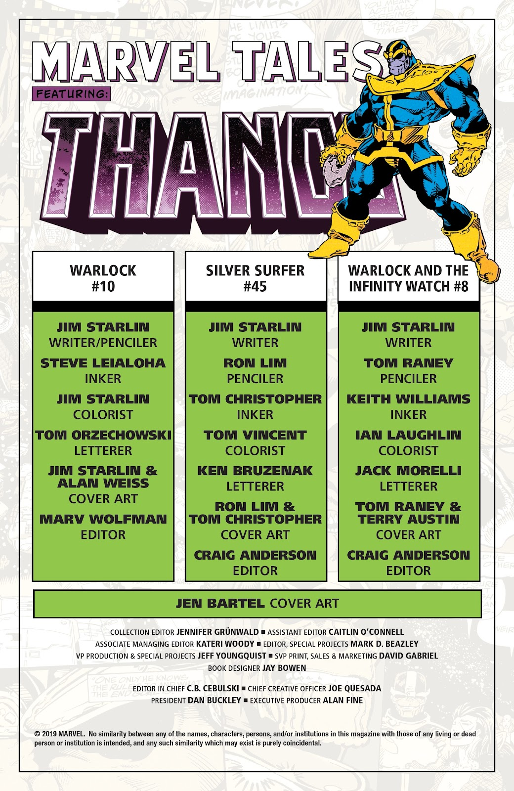 Read online Marvel Tales: Thanos comic -  Issue # Full - 2