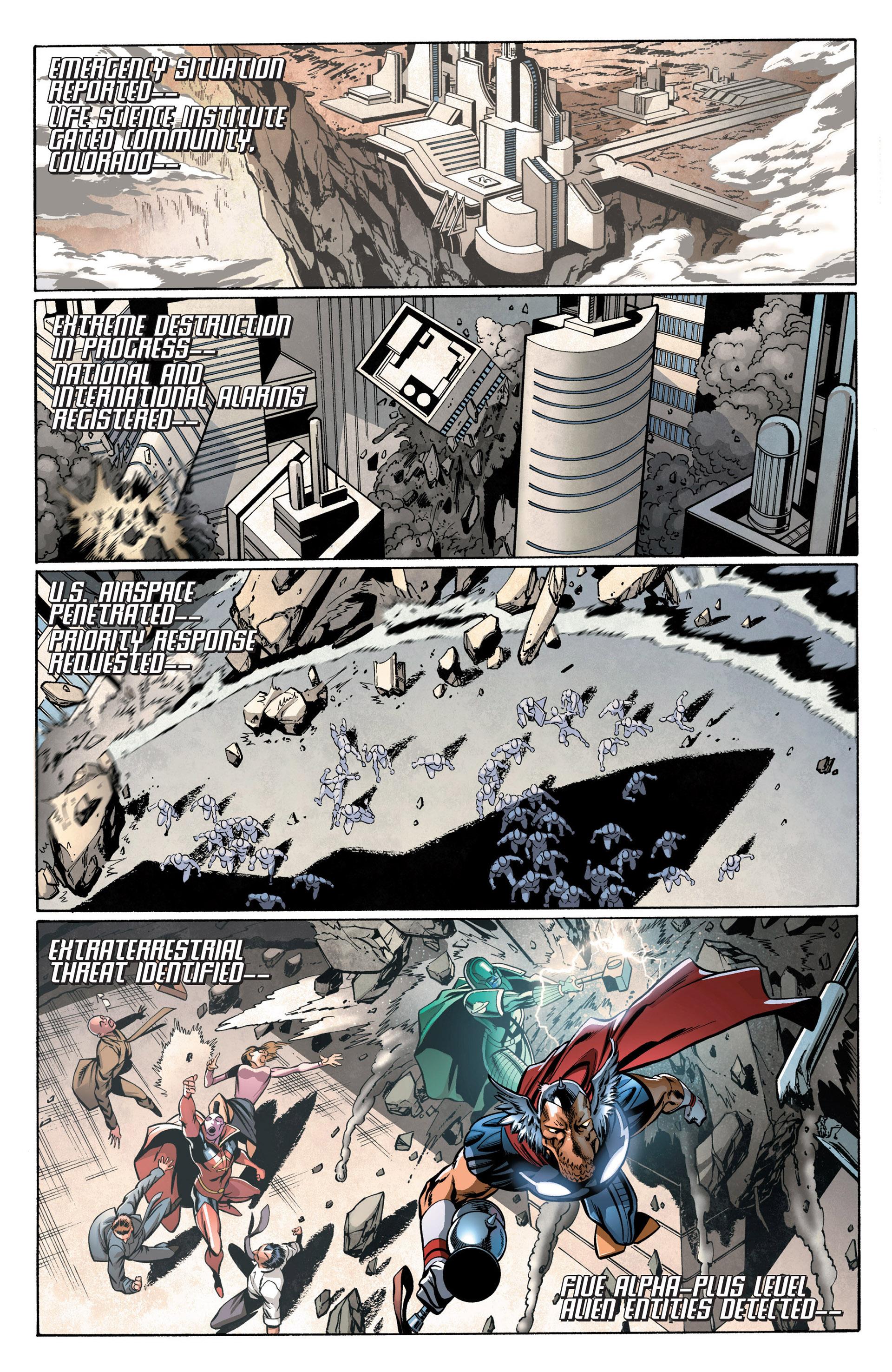 Read online Annihilators: Earthfall comic -  Issue #2 - 3
