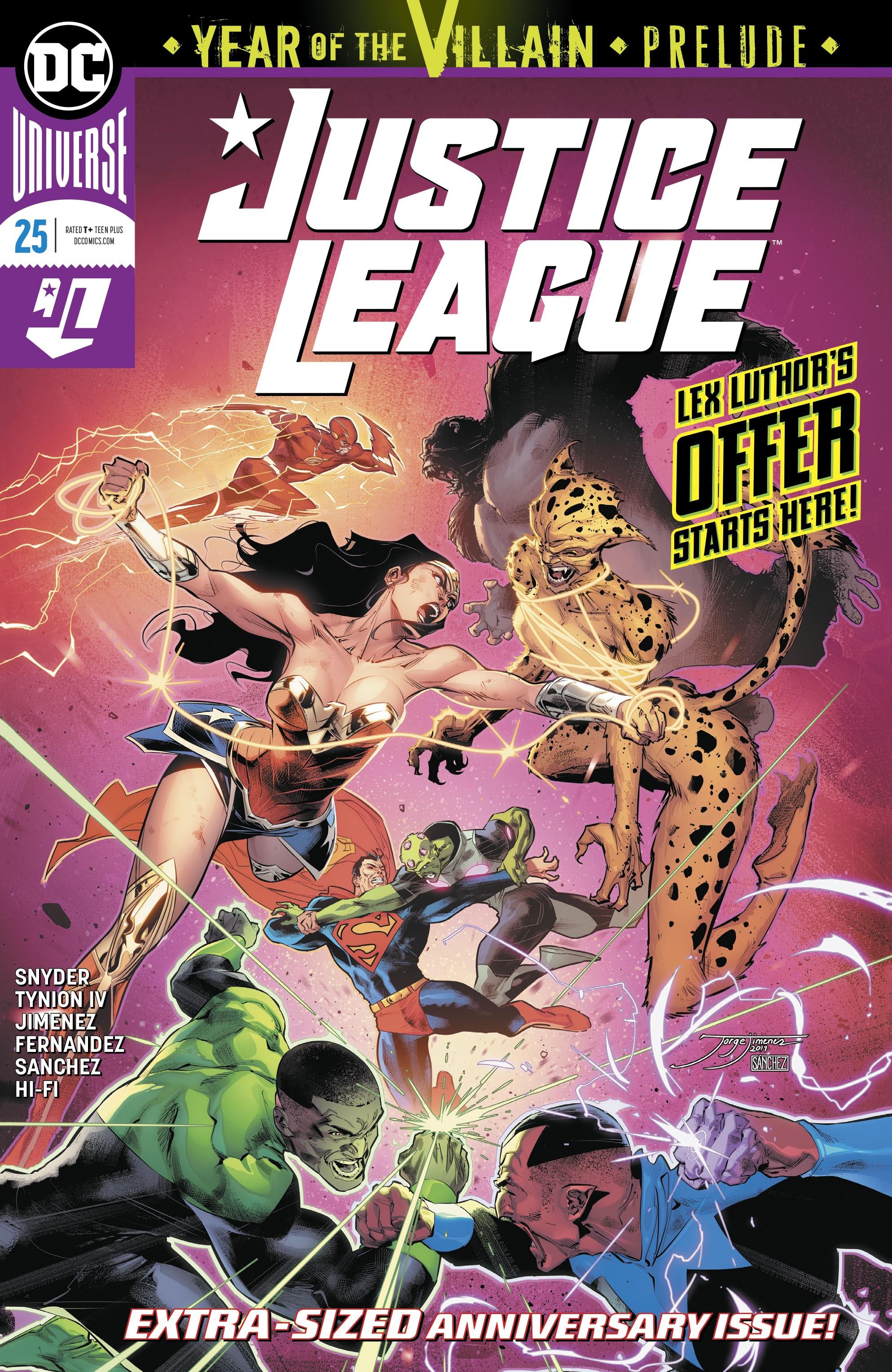 Justice League (2018) 25 Page 1