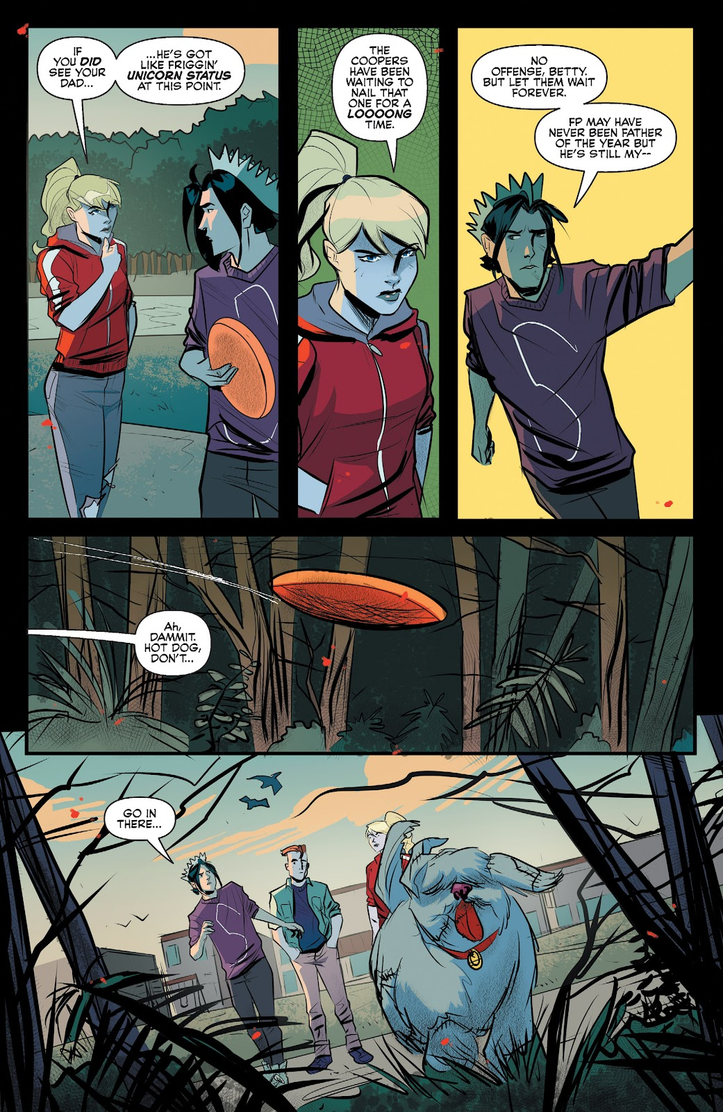 Read online Jughead The Hunger comic -  Issue #12 - 10