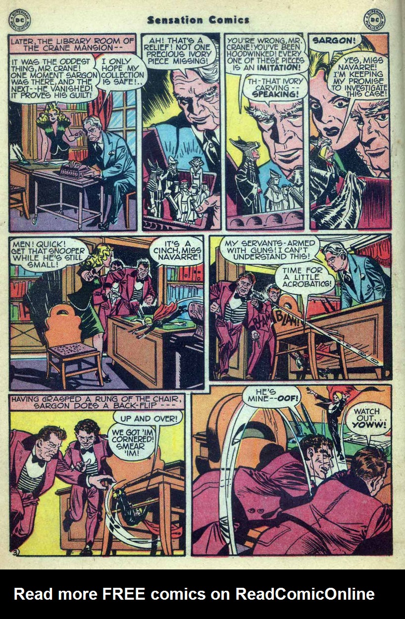 Read online Sensation (Mystery) Comics comic -  Issue #73 - 26