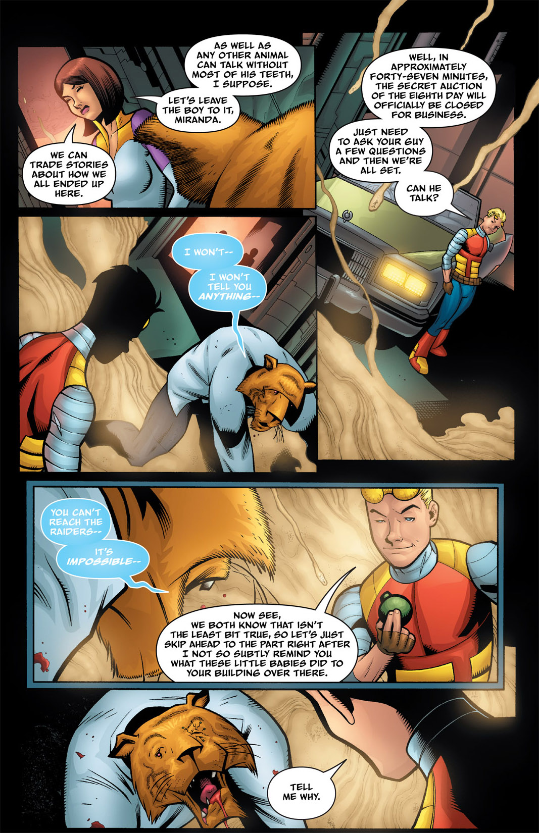 Read online The Many Adventures of Miranda Mercury: Time Runs Out comic -  Issue # TPB - 86