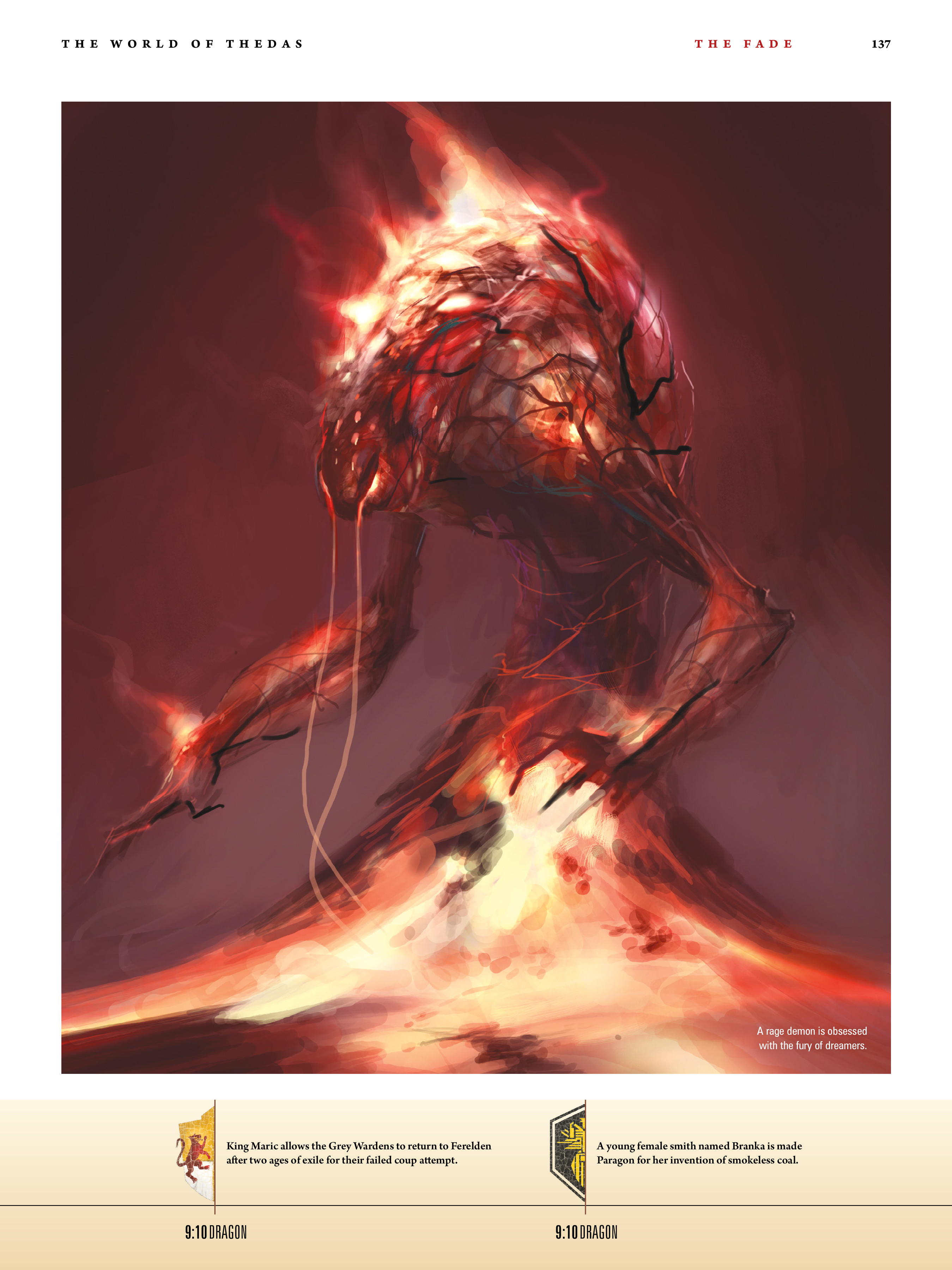 Read online Dragon Age: The World of Thedas comic -  Issue # TPB 1 - 113