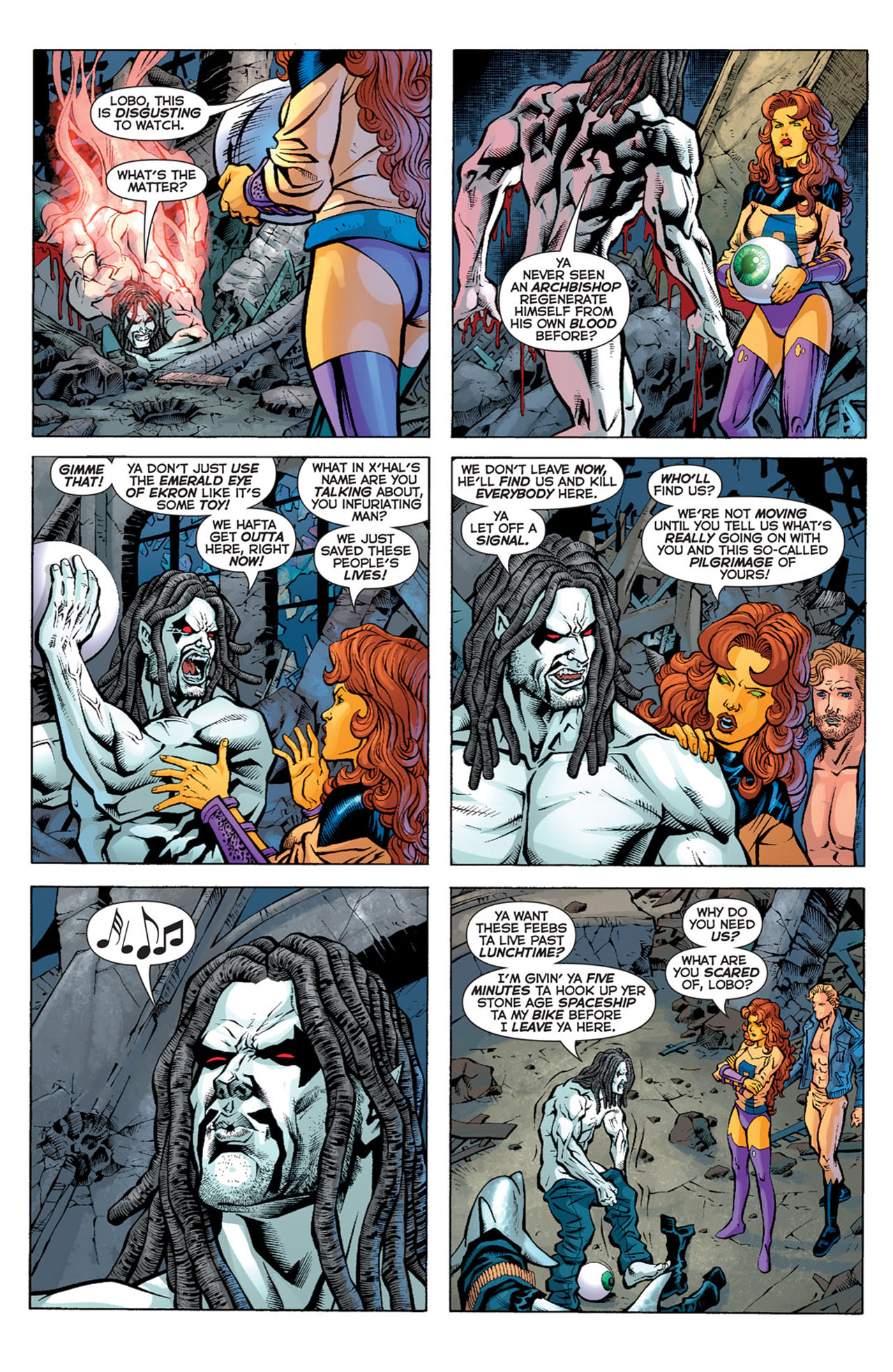 Read online 52 comic -  Issue #20 - 20