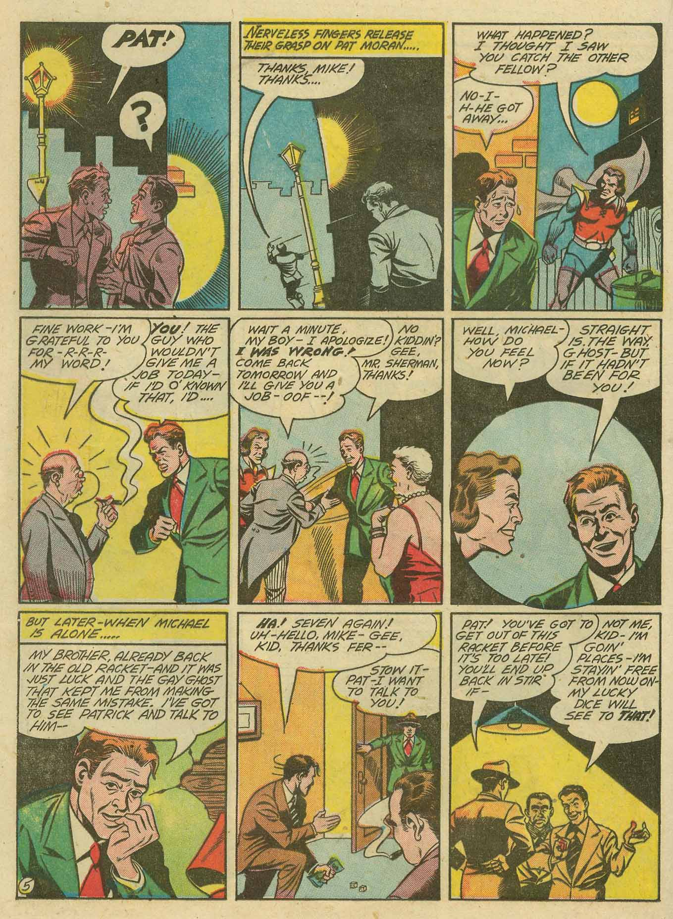 Read online Sensation (Mystery) Comics comic -  Issue #28 - 37