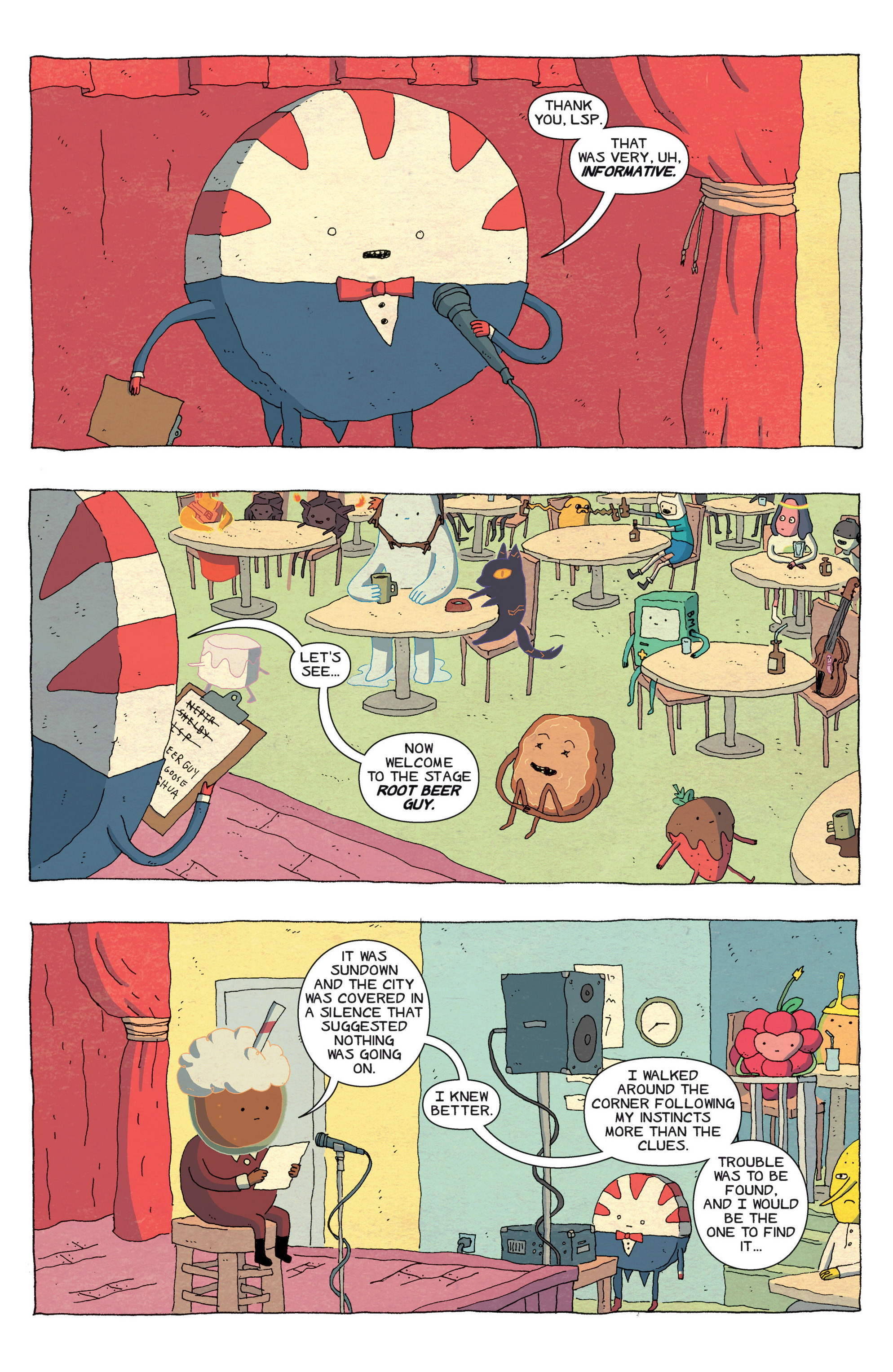 Read online Adventure Time comic -  Issue #43 - 20