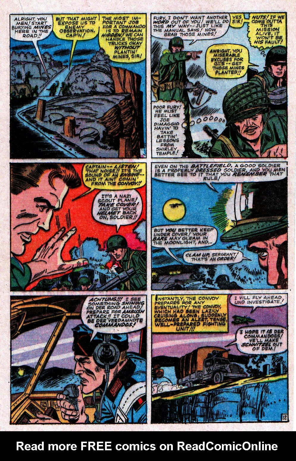Read online Sgt. Fury comic -  Issue #11 - 17