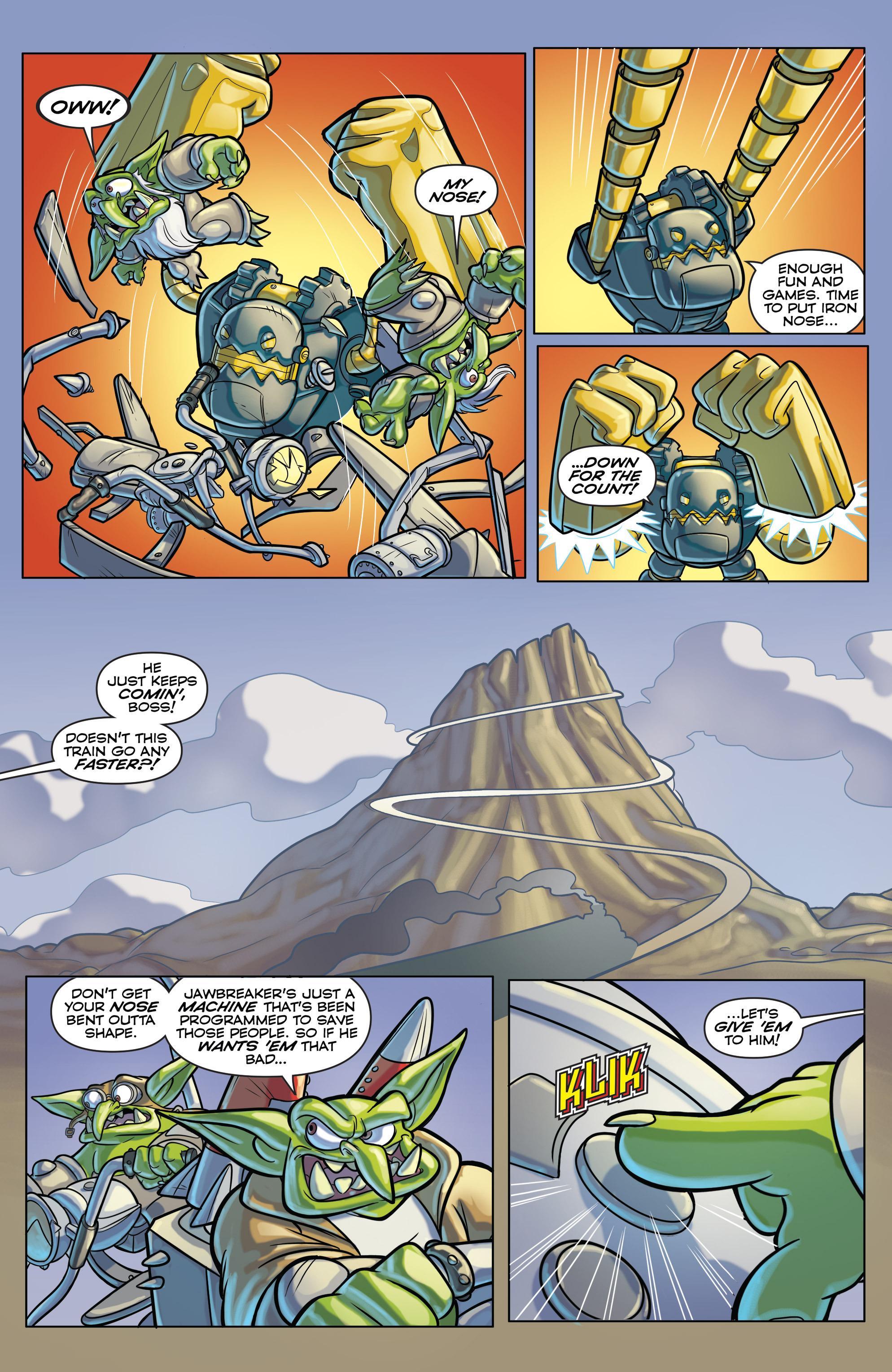 Read online Skylanders comic -  Issue #6 - 11