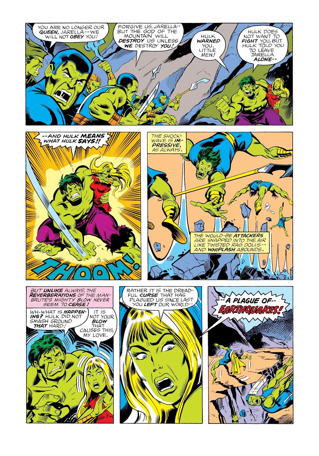 Read online Marvel Masterworks: The Incredible Hulk comic -  Issue # TPB 12 (Part 2) - 45